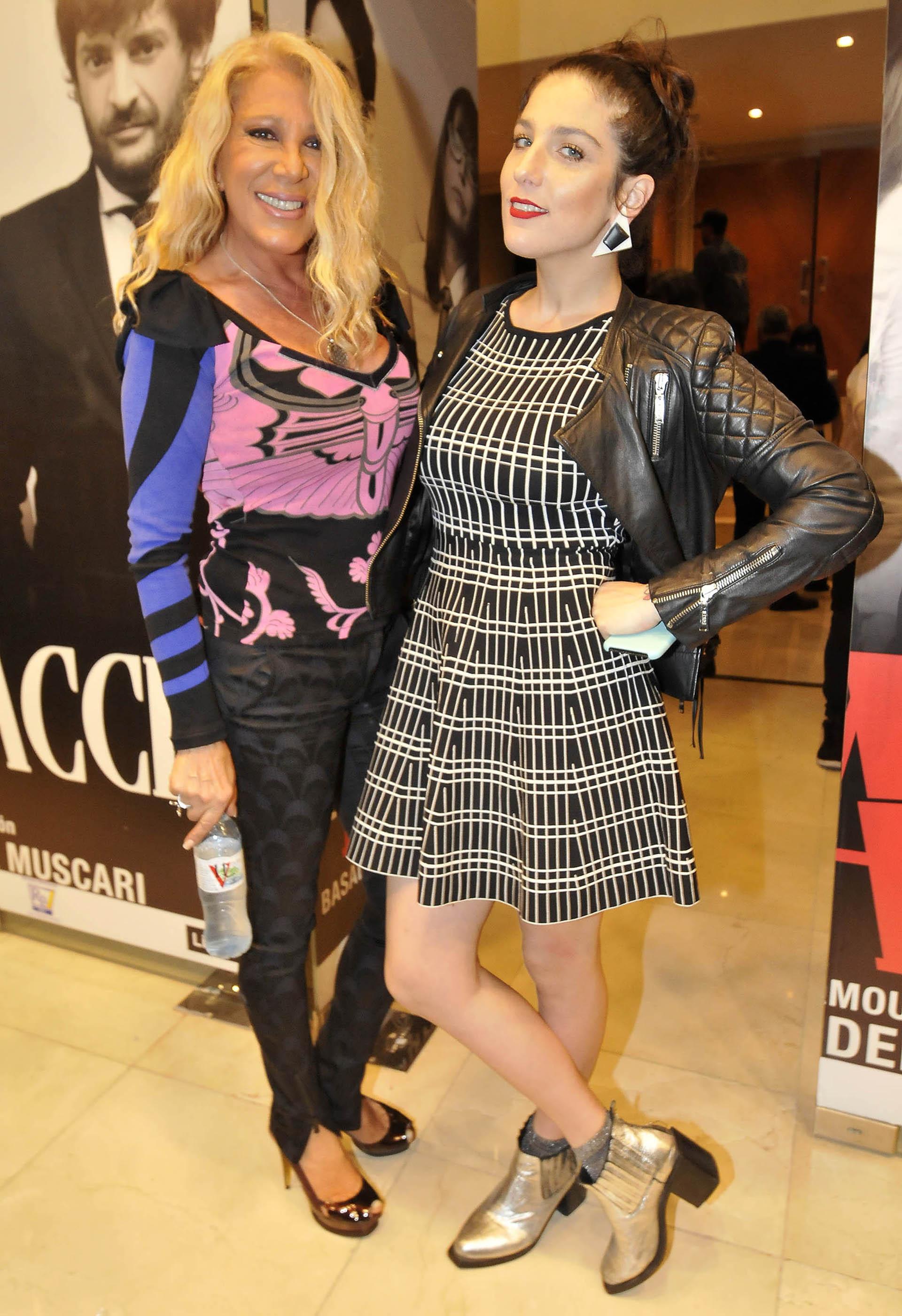 Reina Reech y Juana Repetto