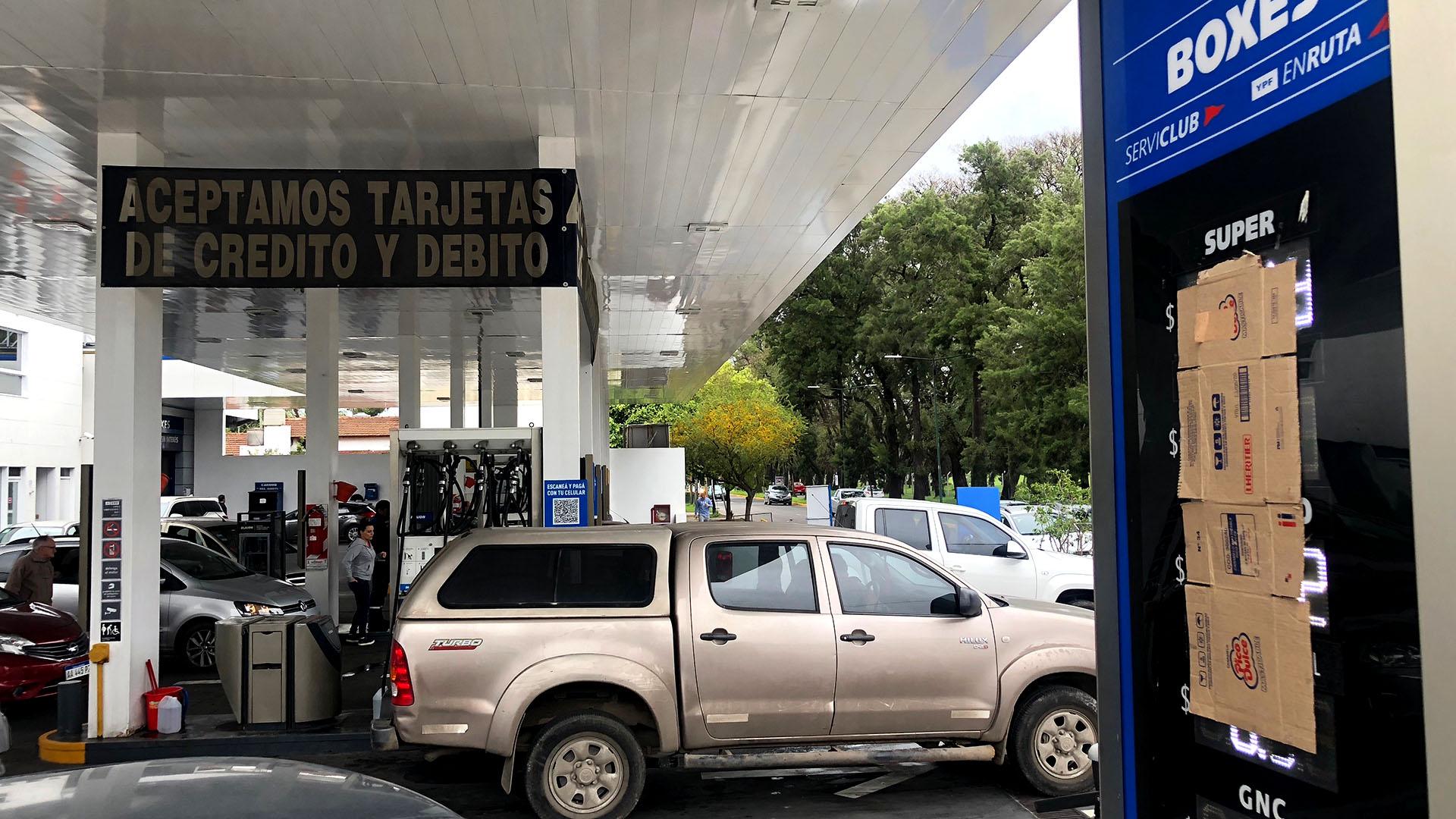 Los aumentos de precios ya empiezan a tener su contracara con menor demanda de combustibles