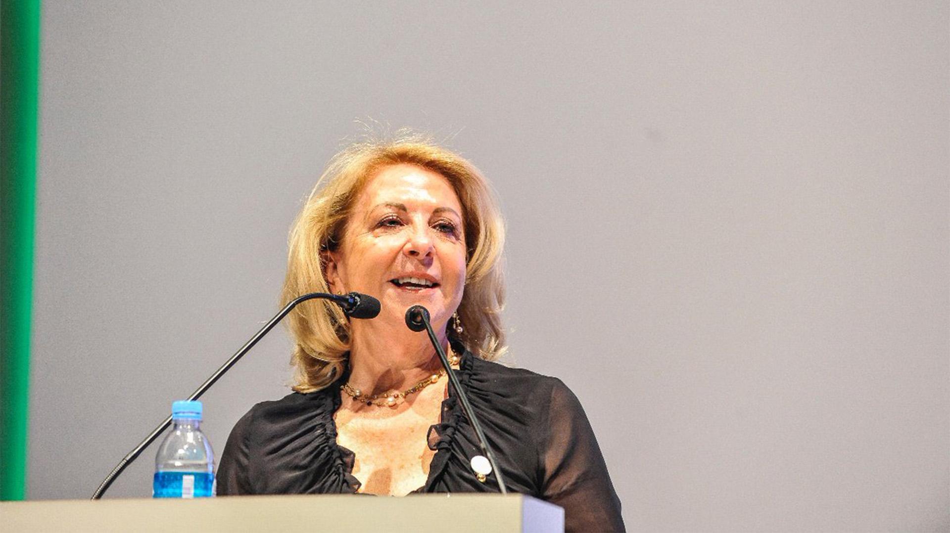 Susana Balbo, en la apertura d ela sesiones públicas @W20_Argentina