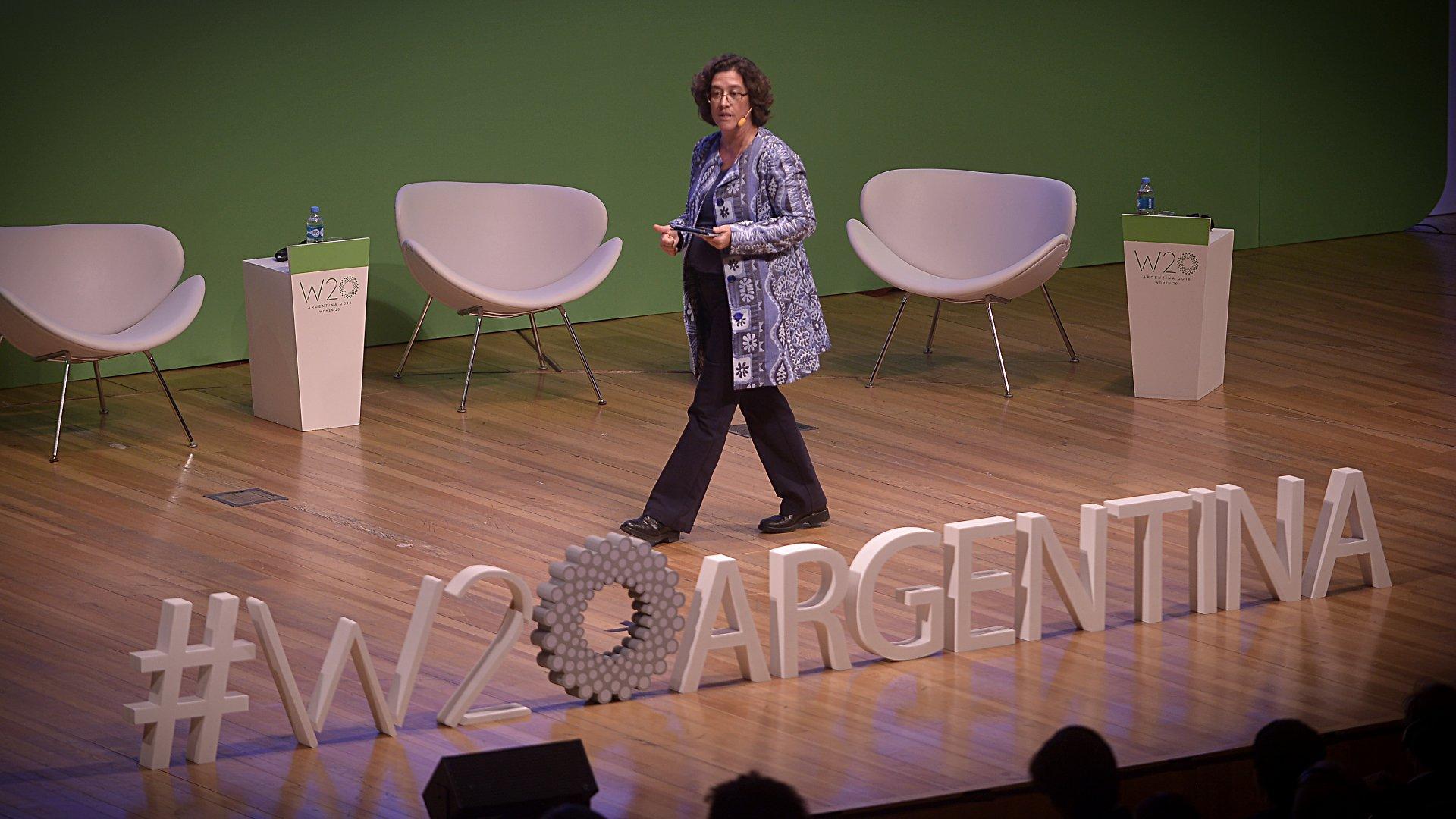 Sonia Jogrge, Directora Ejecutiva y líder de los programas de Inclusión digital de World Wide Web Foundation (Gustavo Gavotti)
