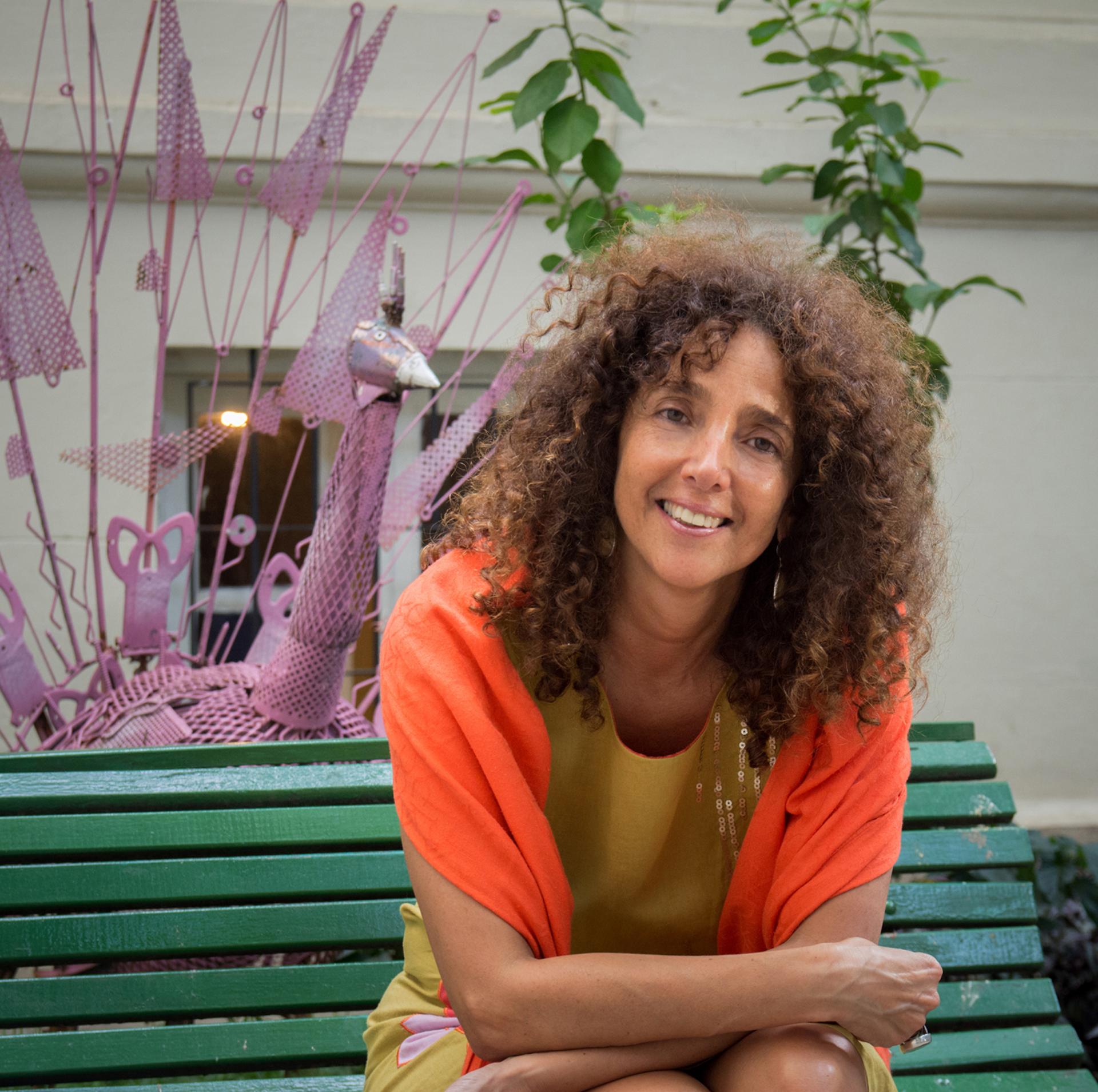 Felicitas Luna, directora del MAP (Foto Pablo Jantus ARSOmnibus)