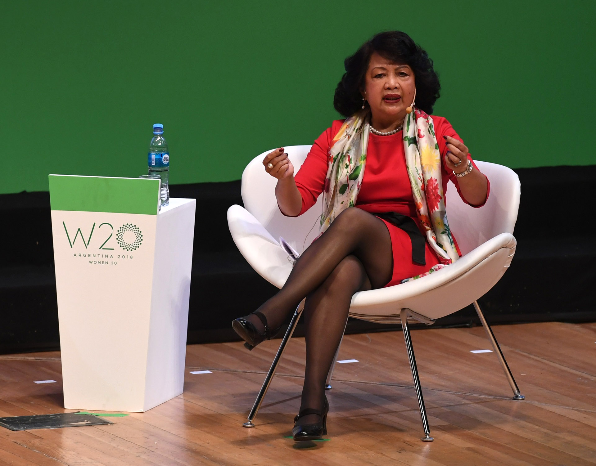 Irene Natividad, presidente de Globe Women Research Education Institute