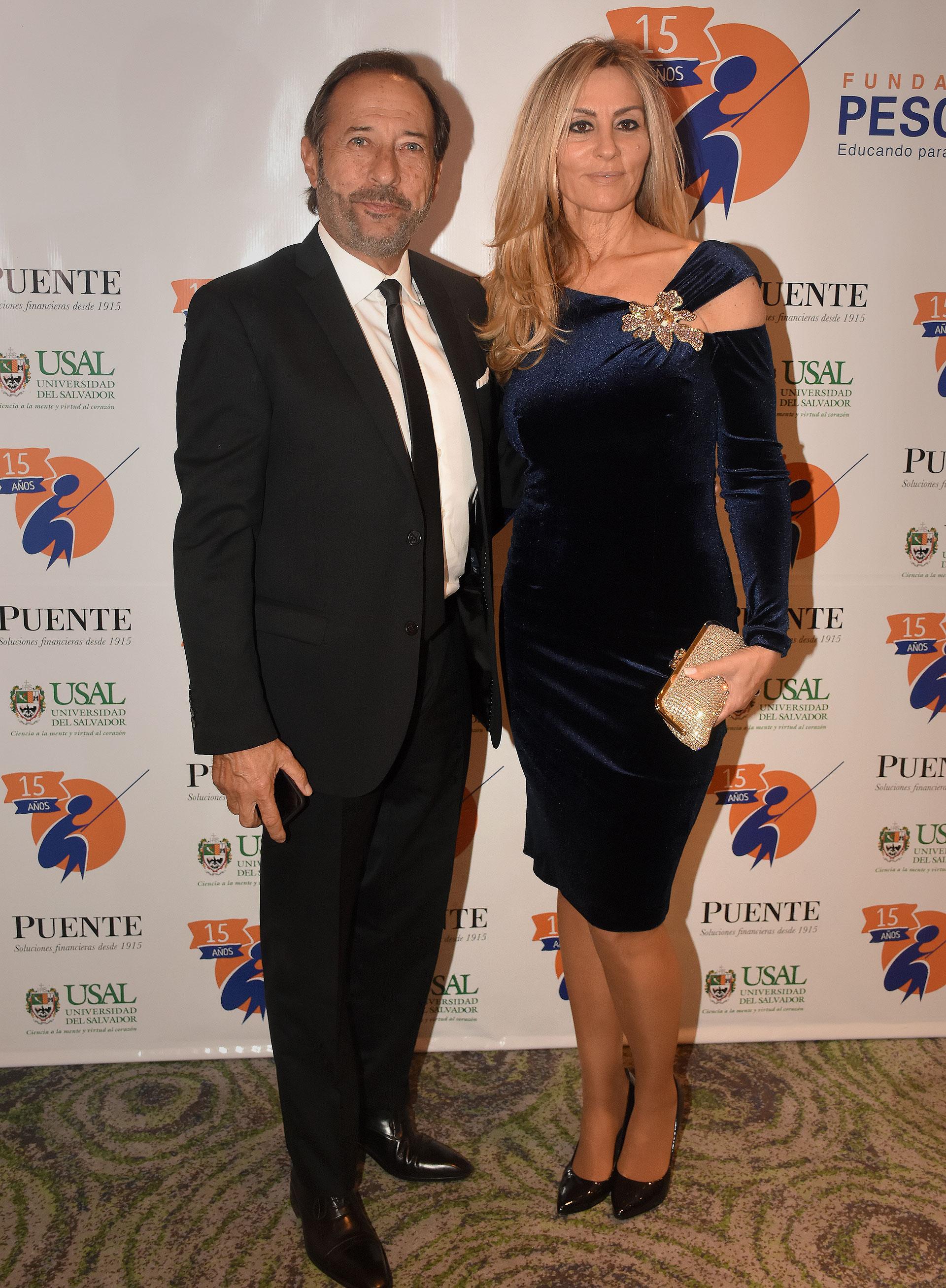 Guillermo Francella y Marynés Breña