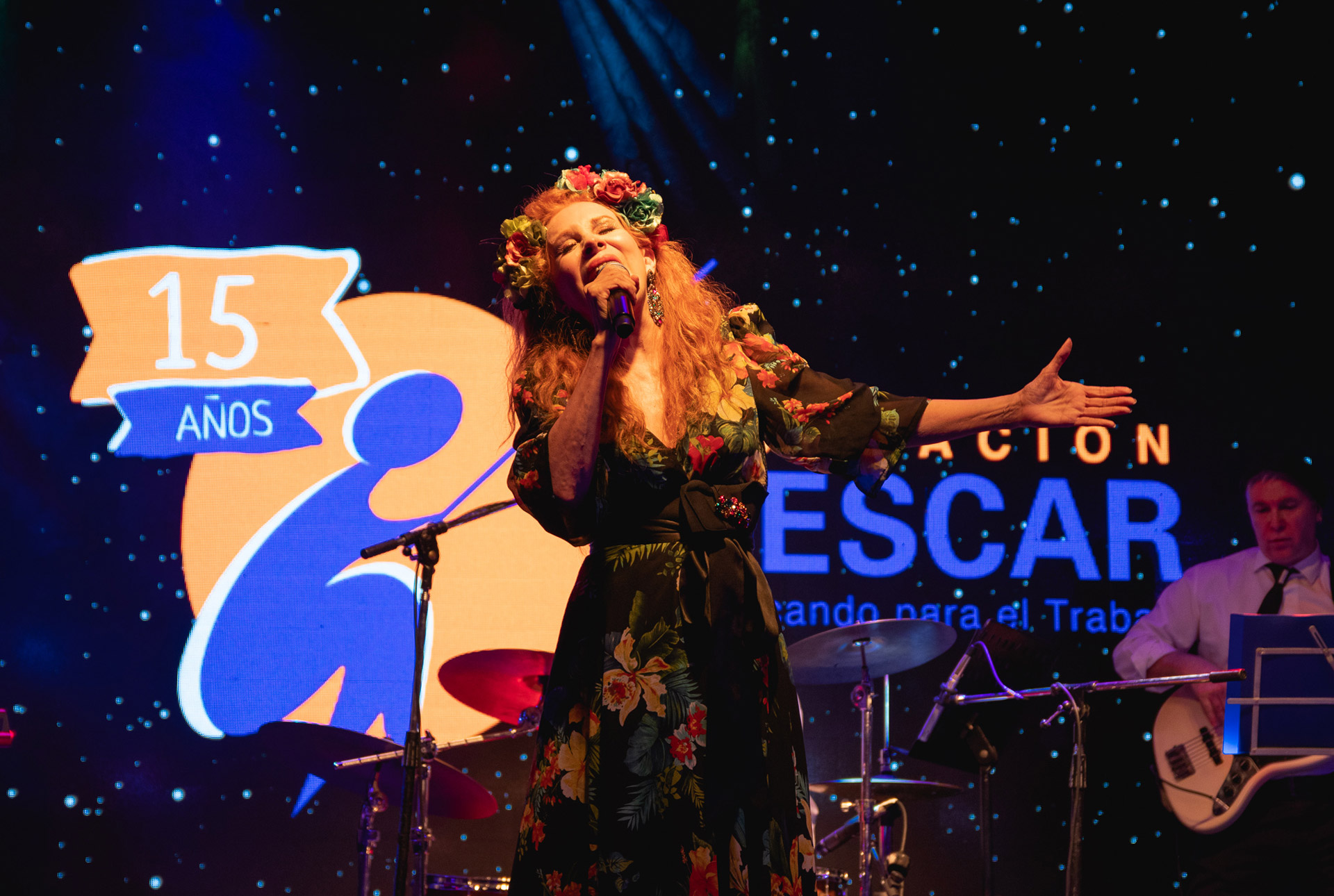 El show de Nacha Guevara que hizo emocionar y cantar a los invitados
