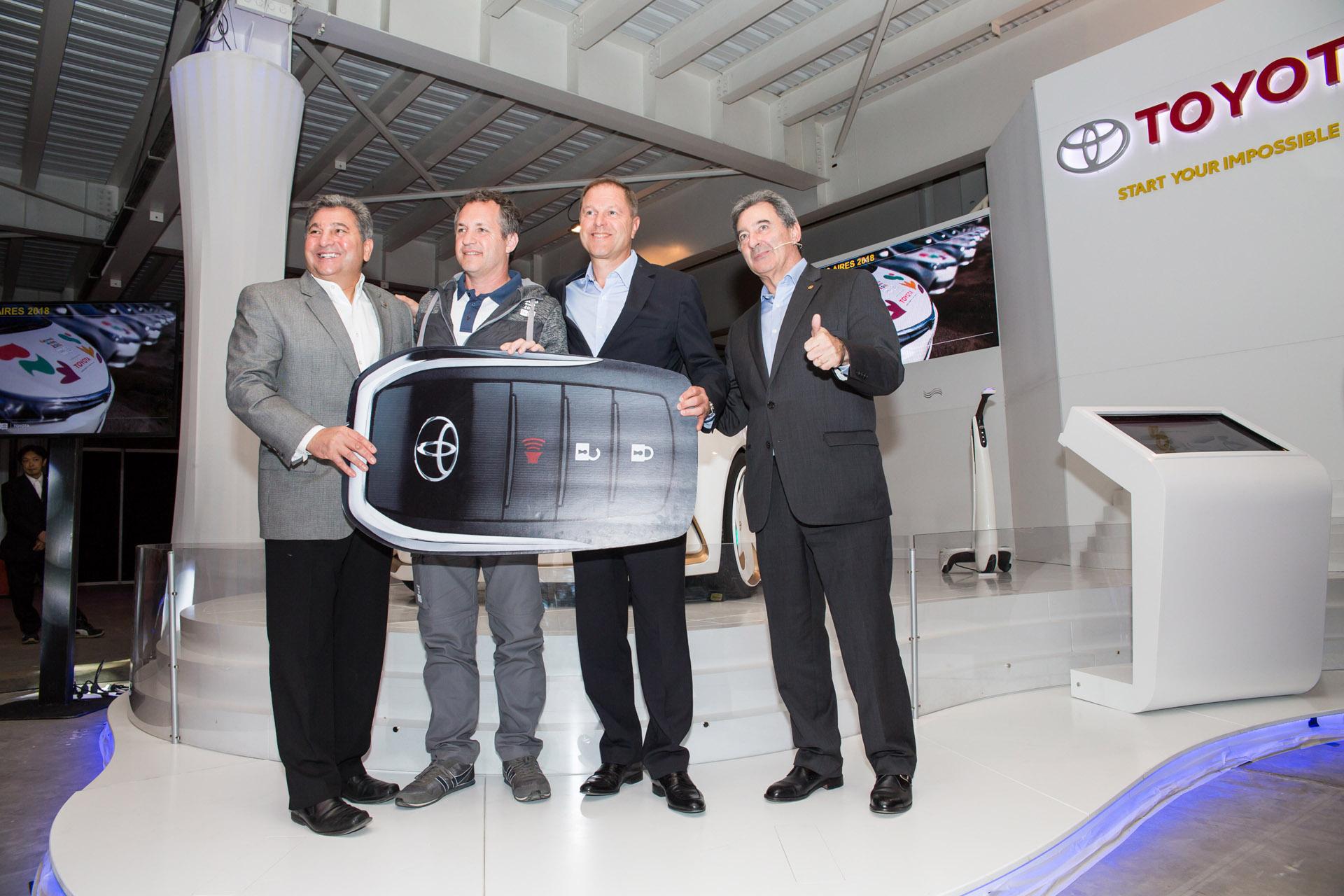 Toyota socio de movilidad oficial de los Juegos Olimpicos de la Juventud, Buenos Aires 2018 .