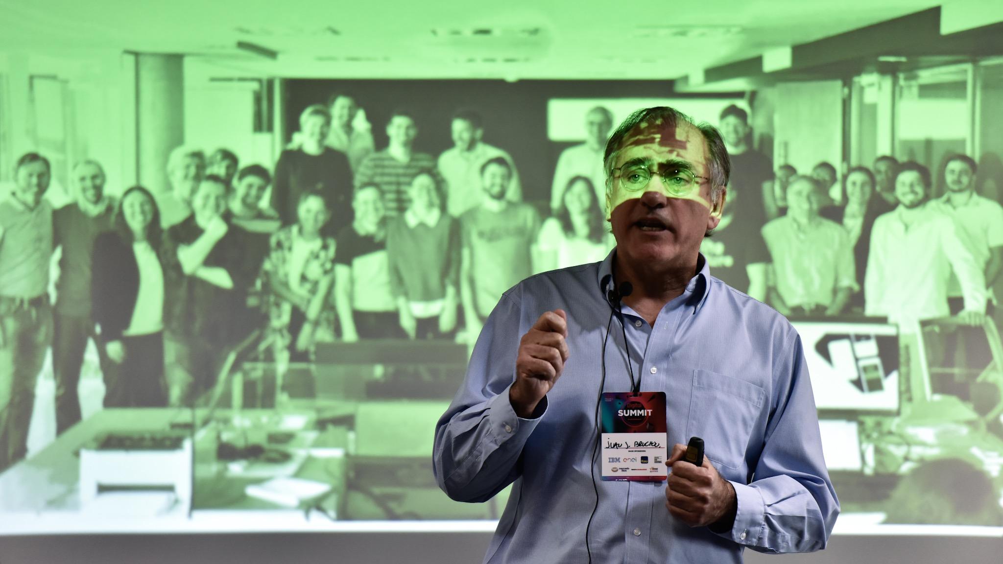 Juan Bruchou, fundador y CEO de Brubank, encabezó la jornada de oradores