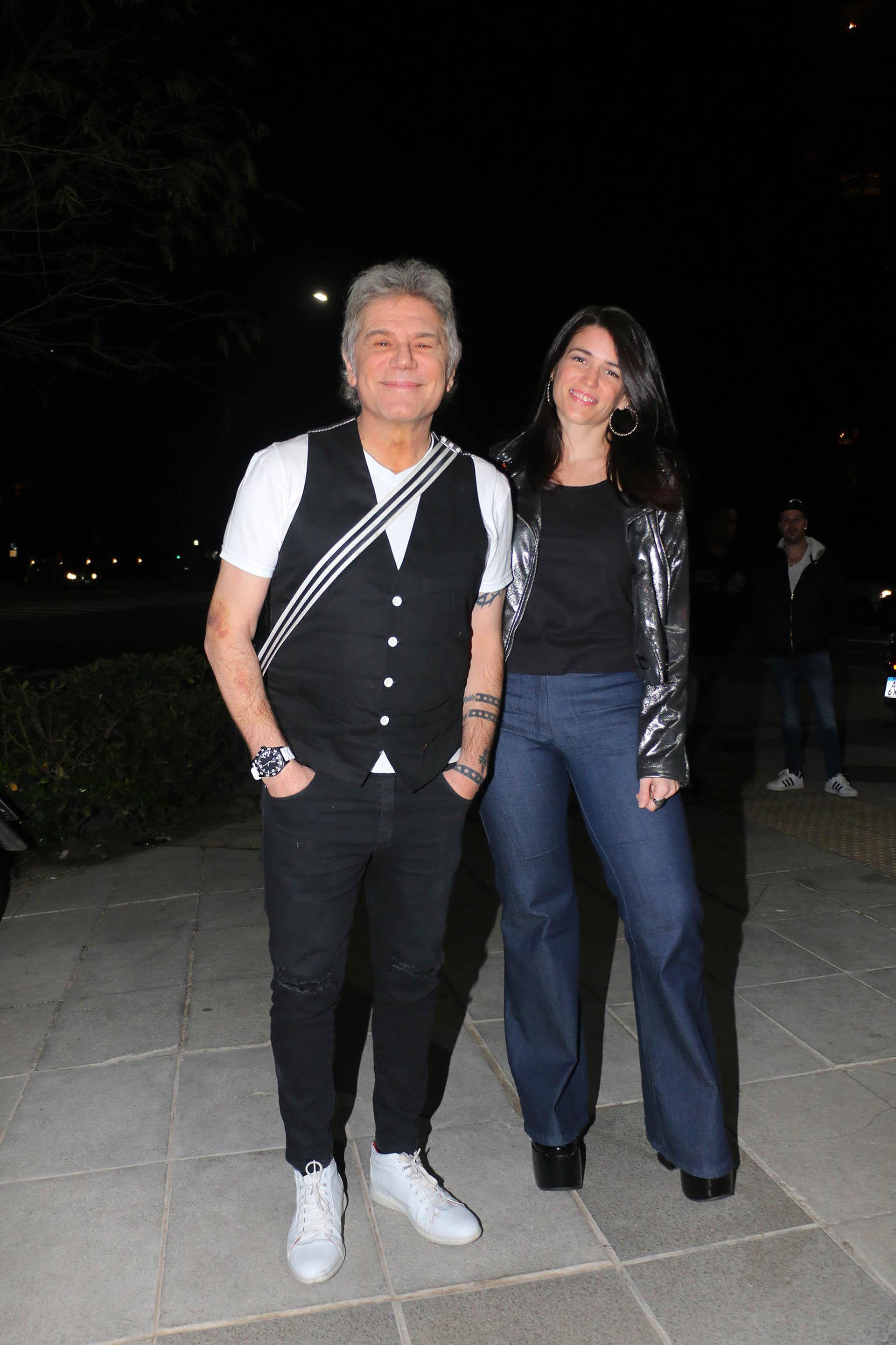 Beto Casella y su novia, Carolina Wyler