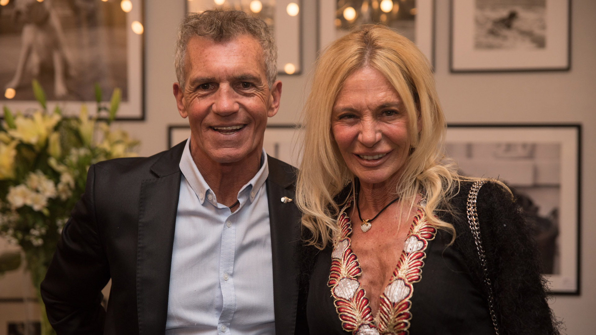Ricardo Piñeiro y Claudia Gemelli