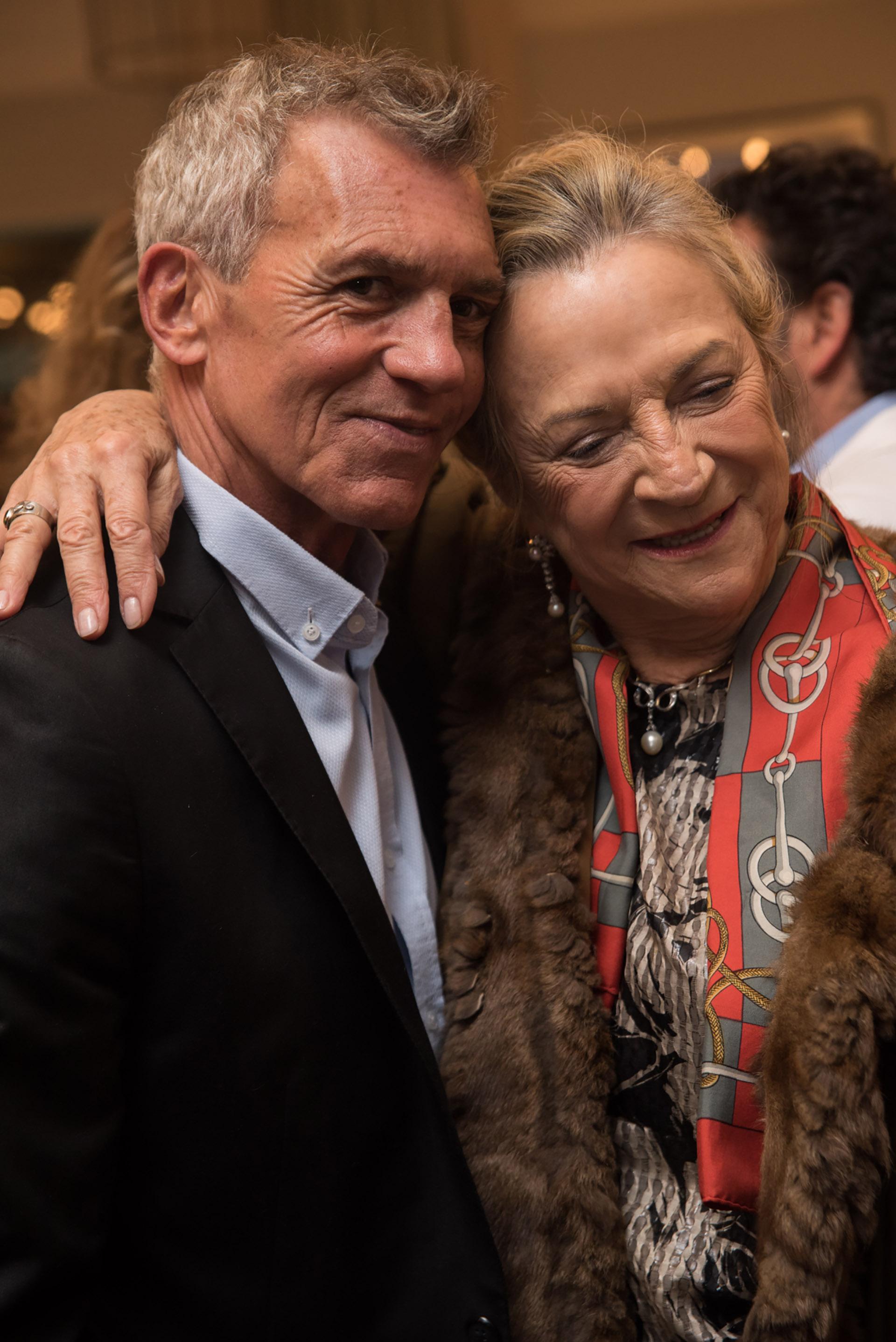 Ricardo Piñeiro y Patricia Ezcurdia