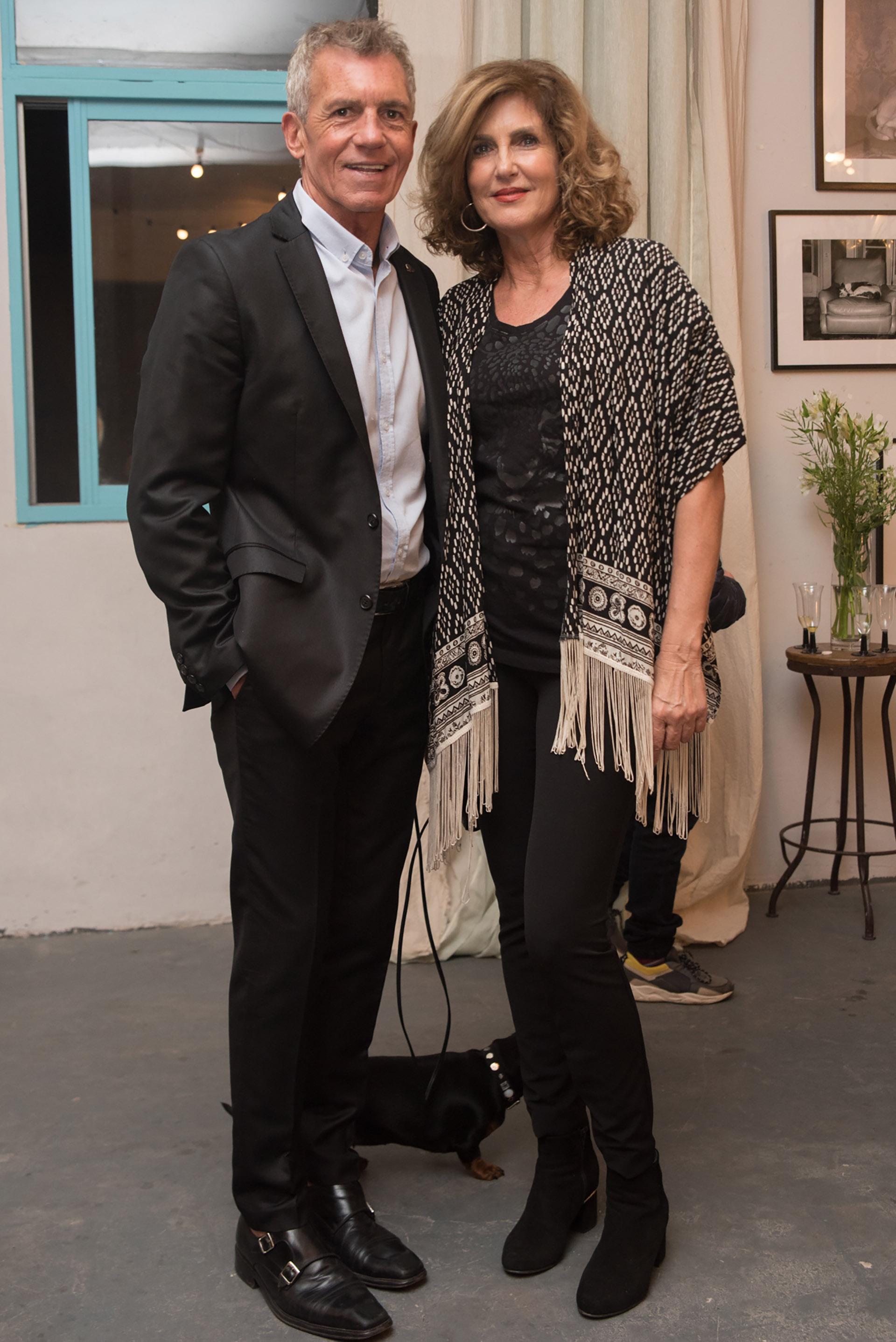 Ricardo Piñeiro y Susana Milano