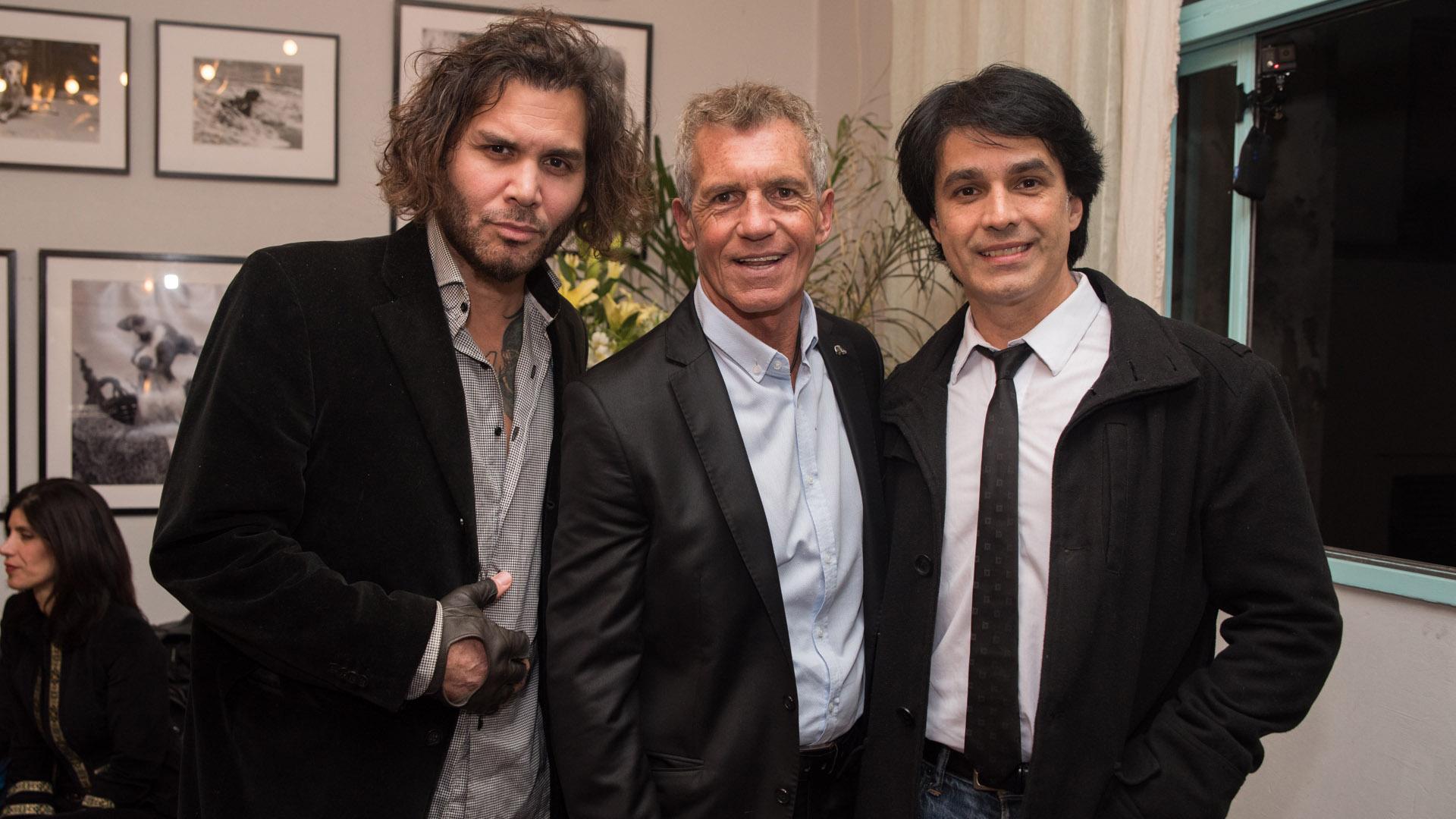 Ary Tassano, Ricardo Piñeiro y Tusam