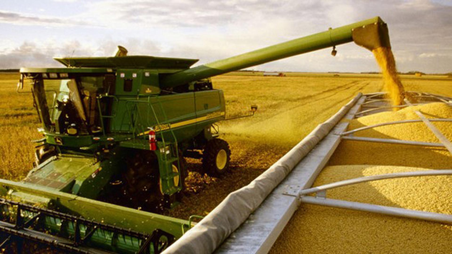 La devaluación encareció los precios de la maquinaria agrícola.