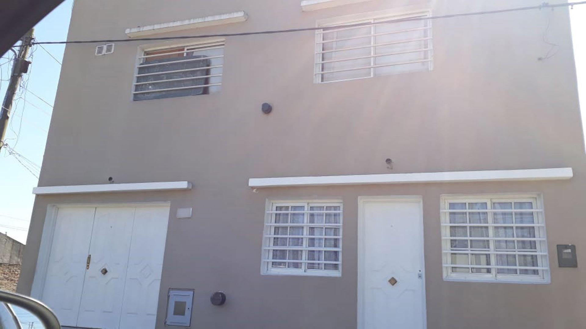 La casa en el barrio San Carlos donde ocurrió el crimen
