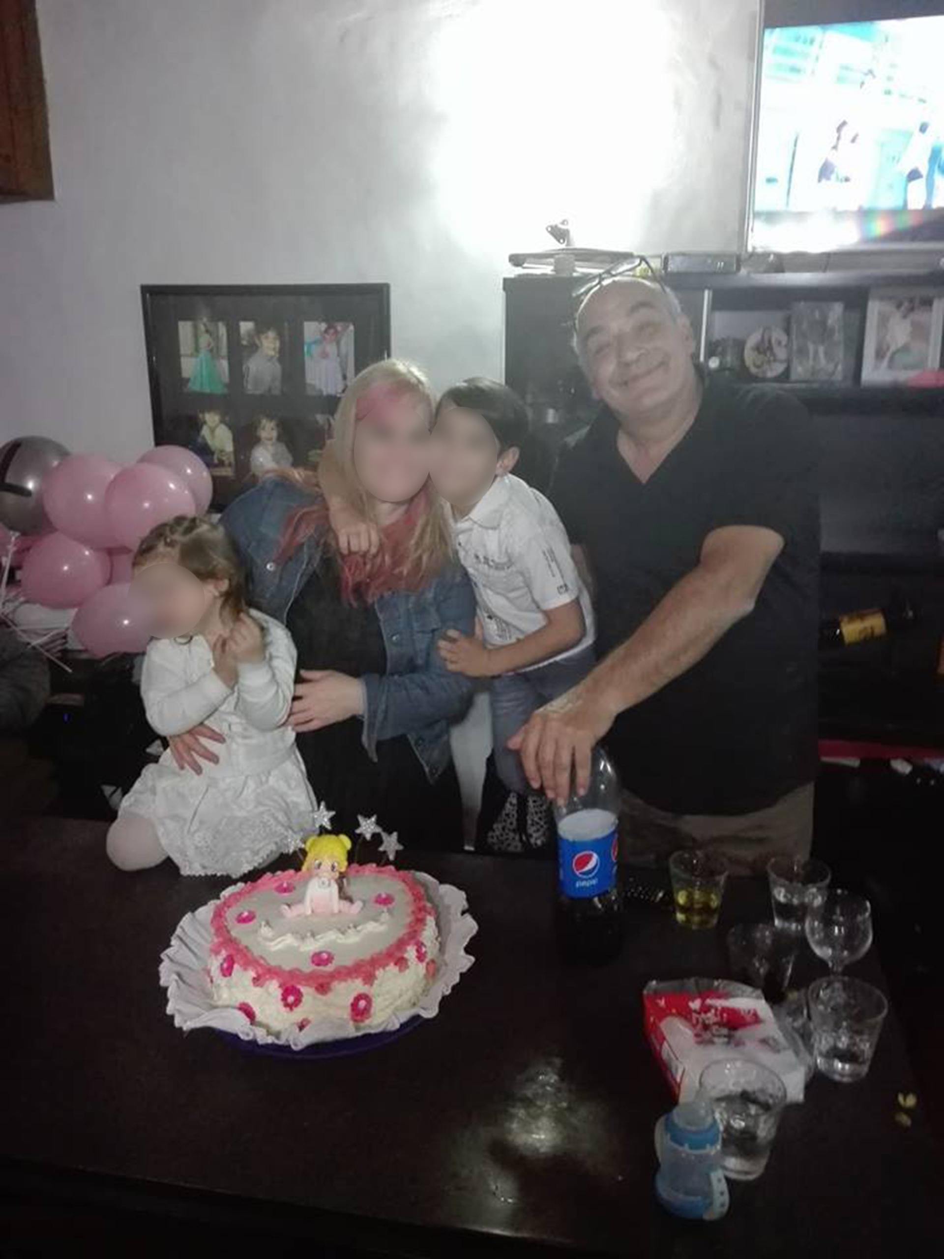 Landivar y S.F. compartían dos hijos menores de edad
