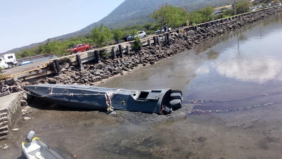 El semi sumergible que fue interceptado por las fuerzas de seguridad de El Salvador que transportaba 500 kilos de cocaína de máxima pureza. Sus tripulantes fueron detenidos y podrían pasar más de 30 años en prisión