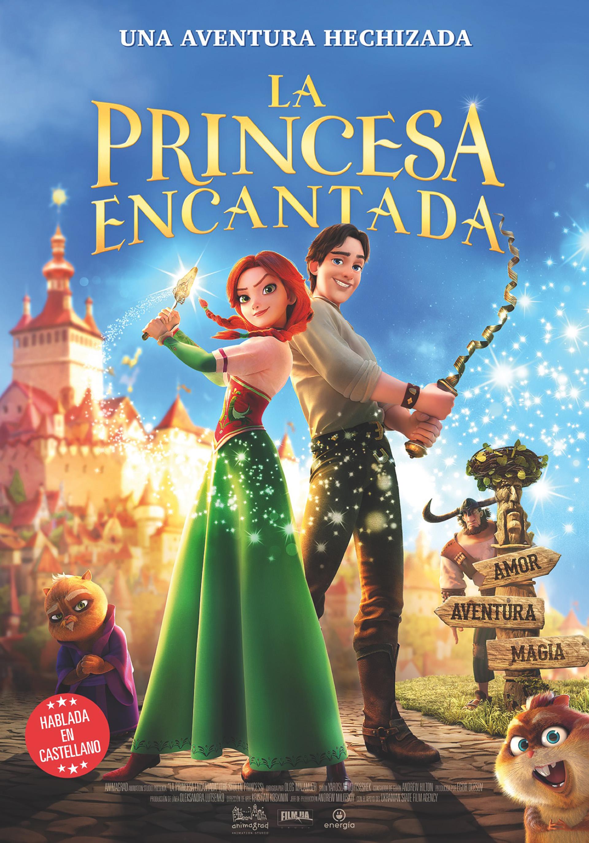 LA PRINCESA ENCANTADA, estrenó el 20 de Septiembre, parece para chicos pero es para toda la familia…