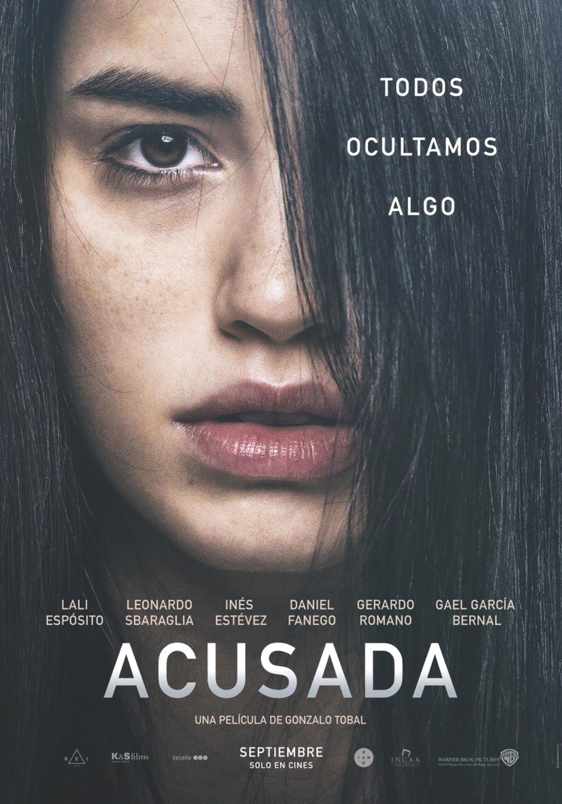 ACUSADA, estrenó el 13 de Septiembre. Un drama que esta muy bueno