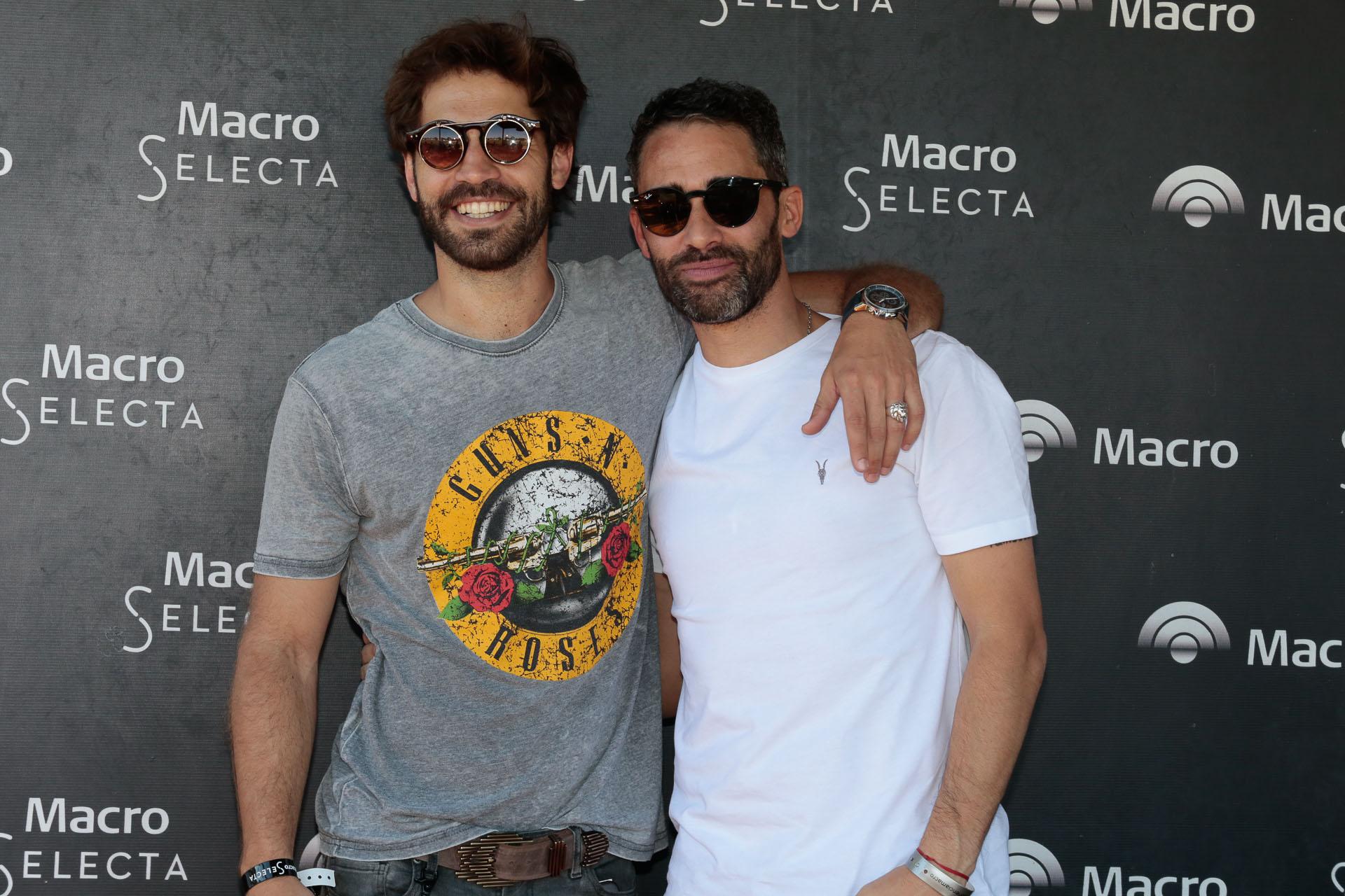 Benjamín Alfonso y el Pollo Álvarez