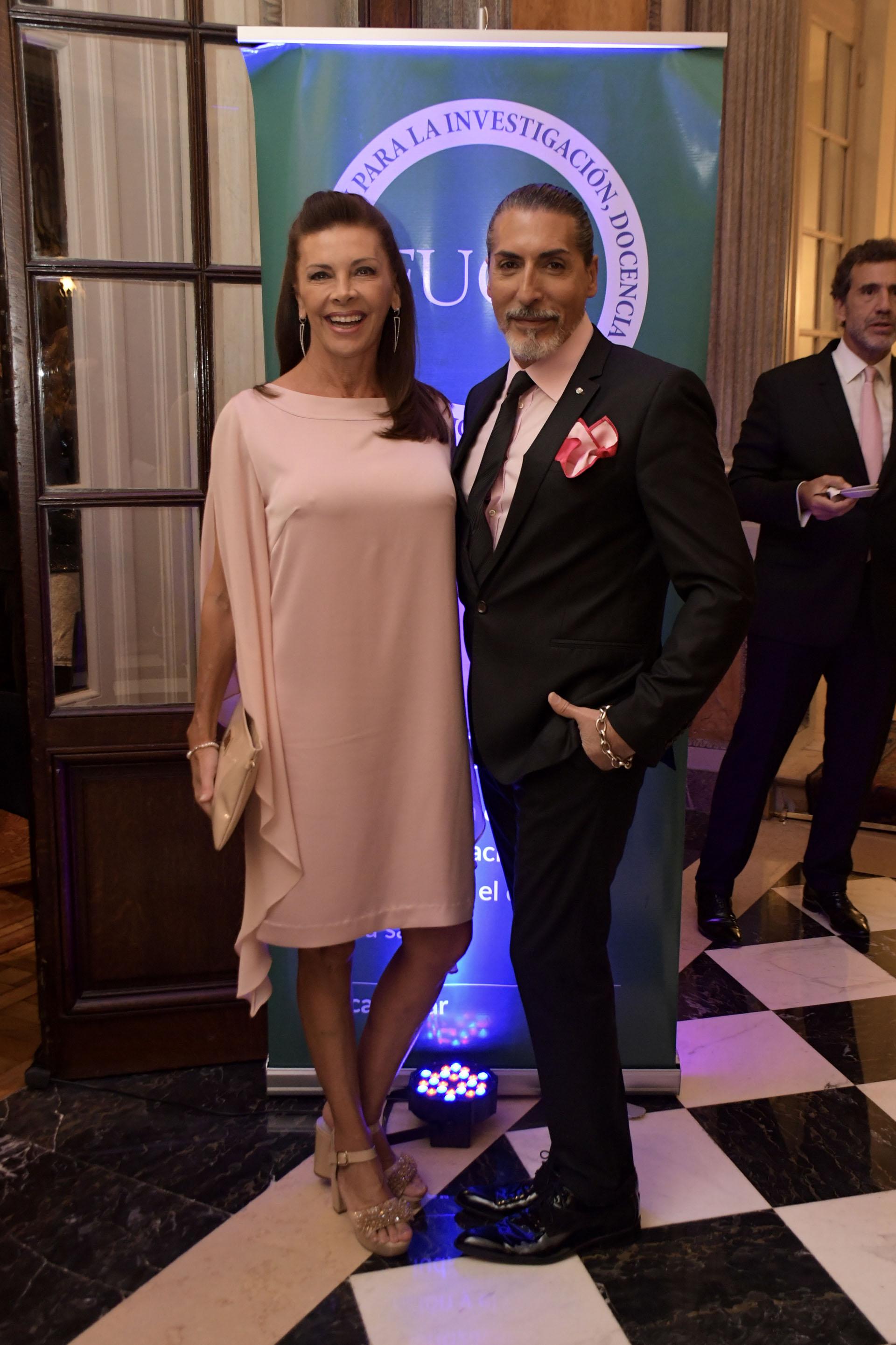 Fabiana Araujo y César Juricich