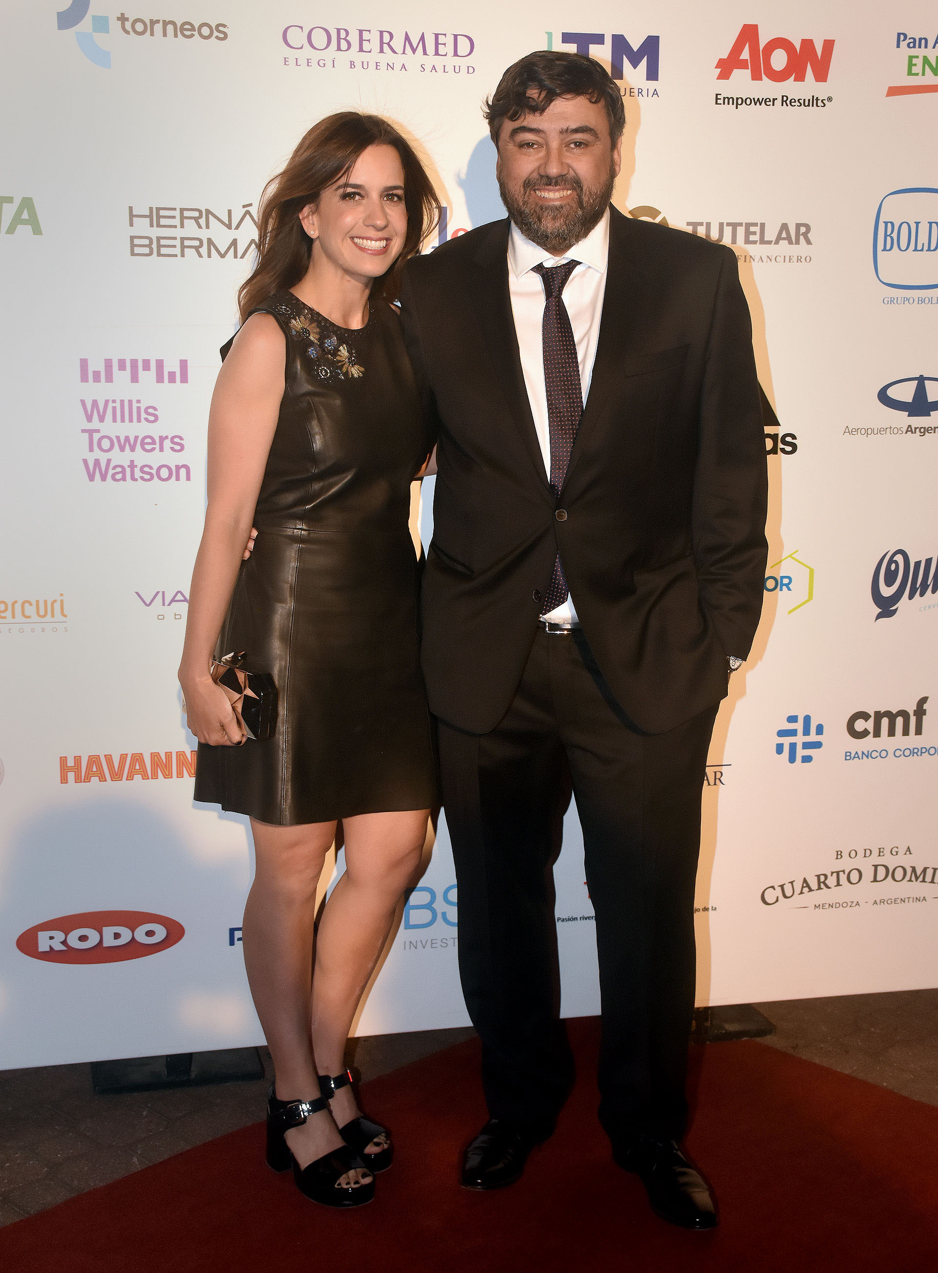 Juan Cruz Ávila y su mujer María Guastavino