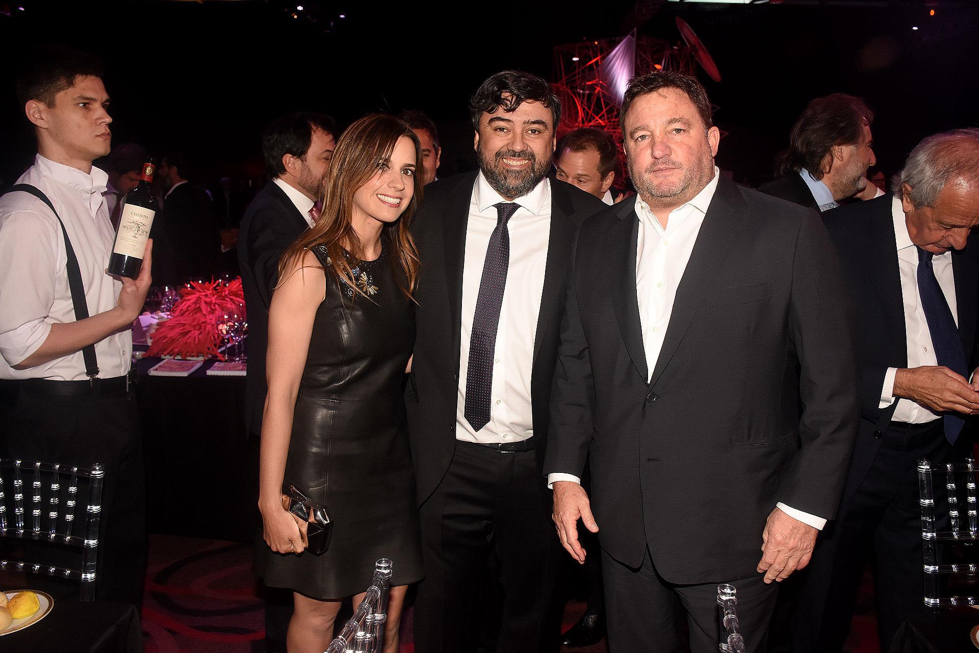 María Guastavino, Juan Cruz Ávila y Alejandro Macfarlane