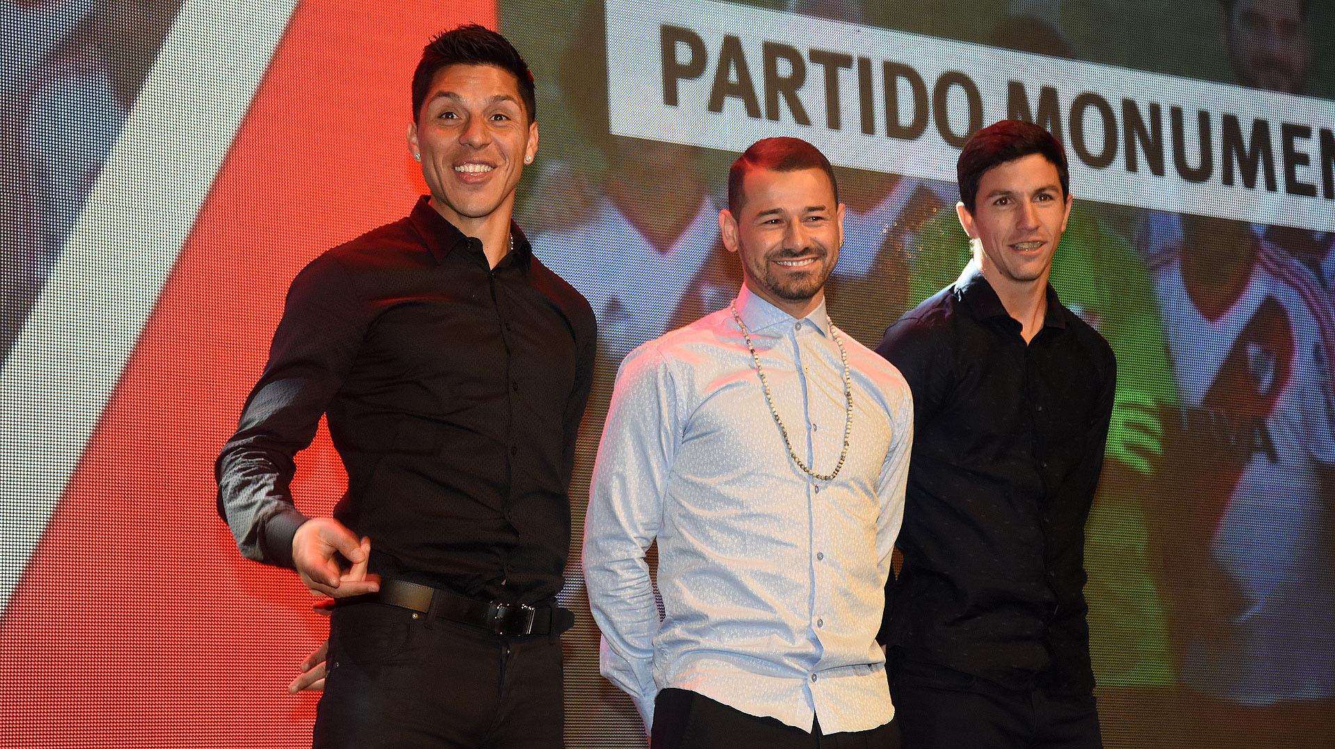 Se subastó un partido para 40 personas en el Monumental con la presencia de Enzo Pérez, Rodrigo Mora e Ignacio Fernández