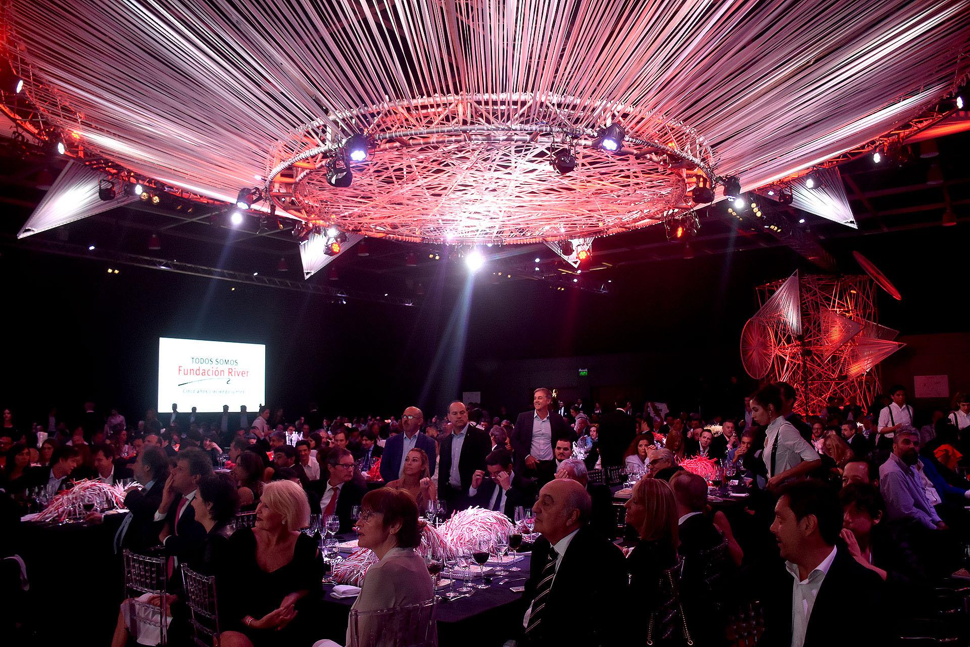 La gran cena anual de la Fundación River /// Fotos: Nicolás Stulberg