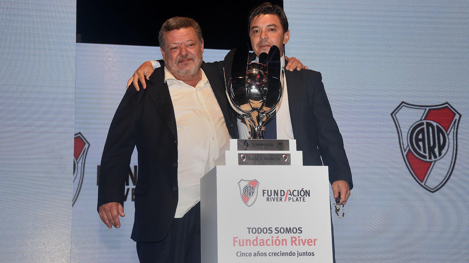 La subasta de la Supercopa -que River le ganó a Boca el 14 de marzo- se remató en 3 millones de pesos