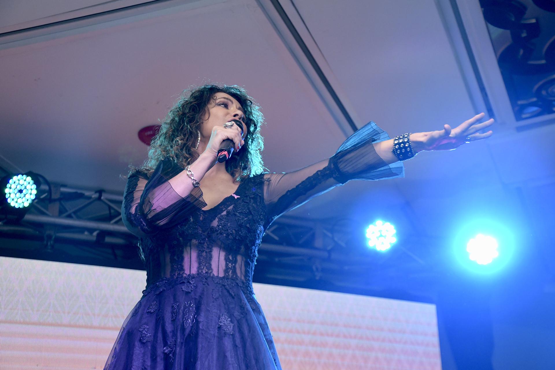 Patricia Sosa cantó 'Un largo camino '