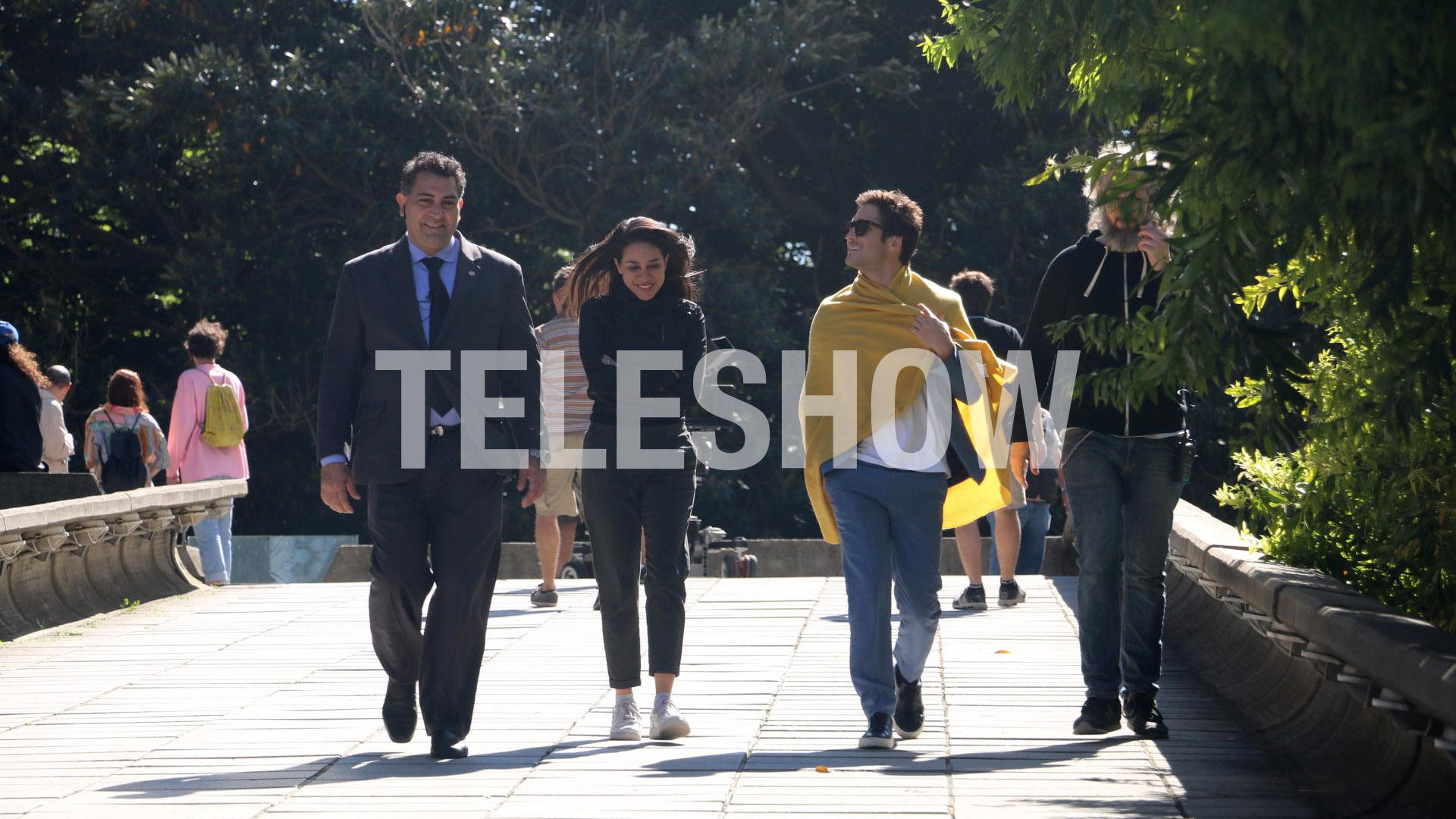 El actor mexicano tampoco pudo asegurar cuándo comienzan las grabaciones de la segunda temporada de Luis Miguel la serie