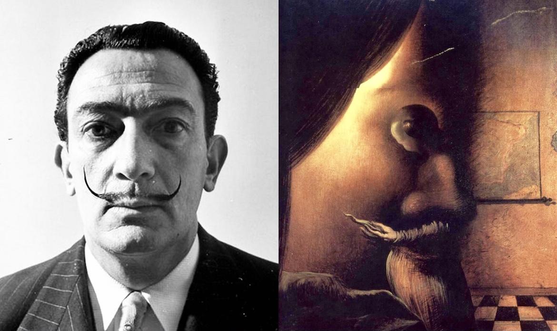 """Salvador Dalí estaba fascinado por las imágenes engañosas y llegó a crear una propia con su """"extraña mujer"""""""