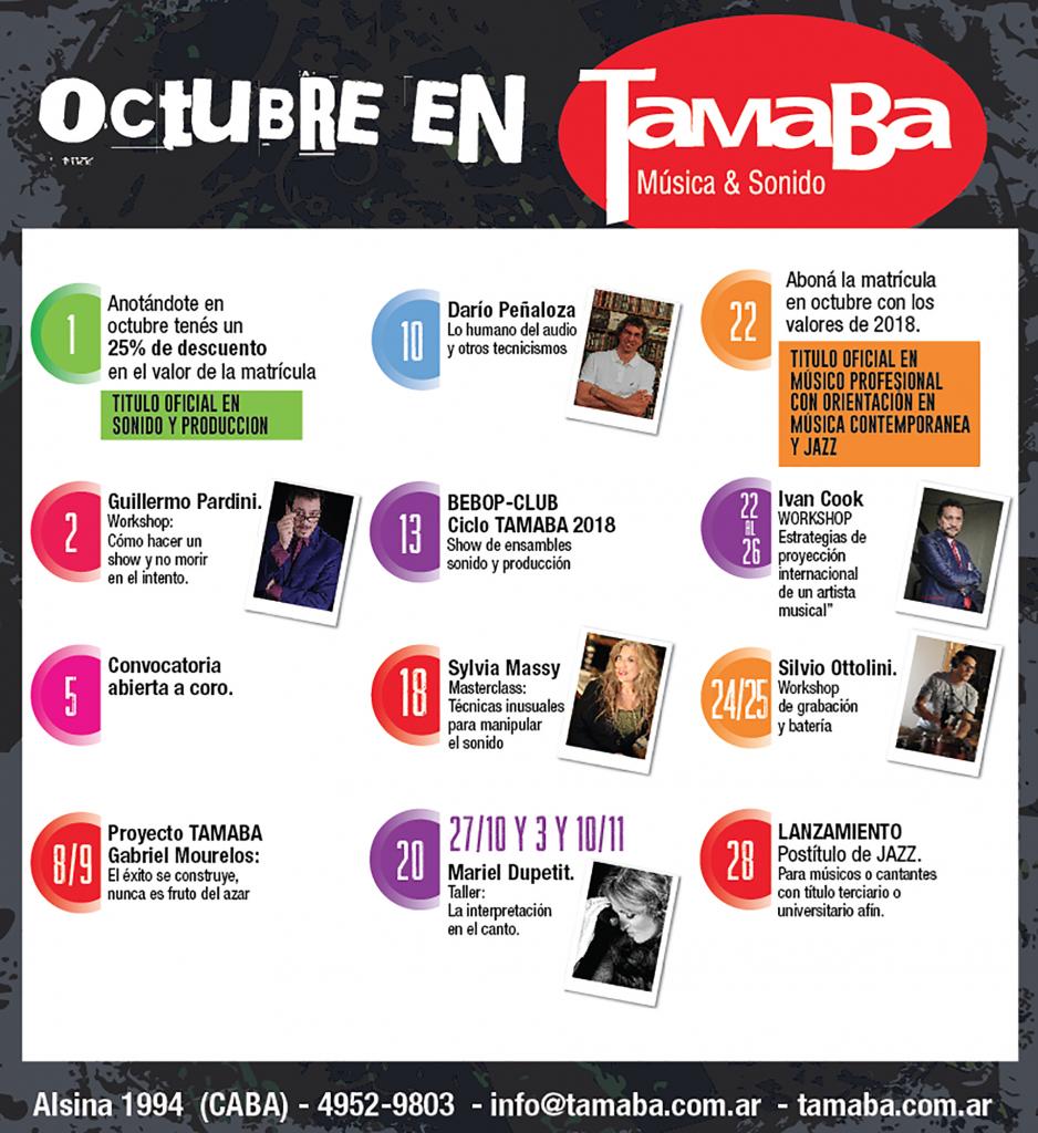 Octubre en TamaBa