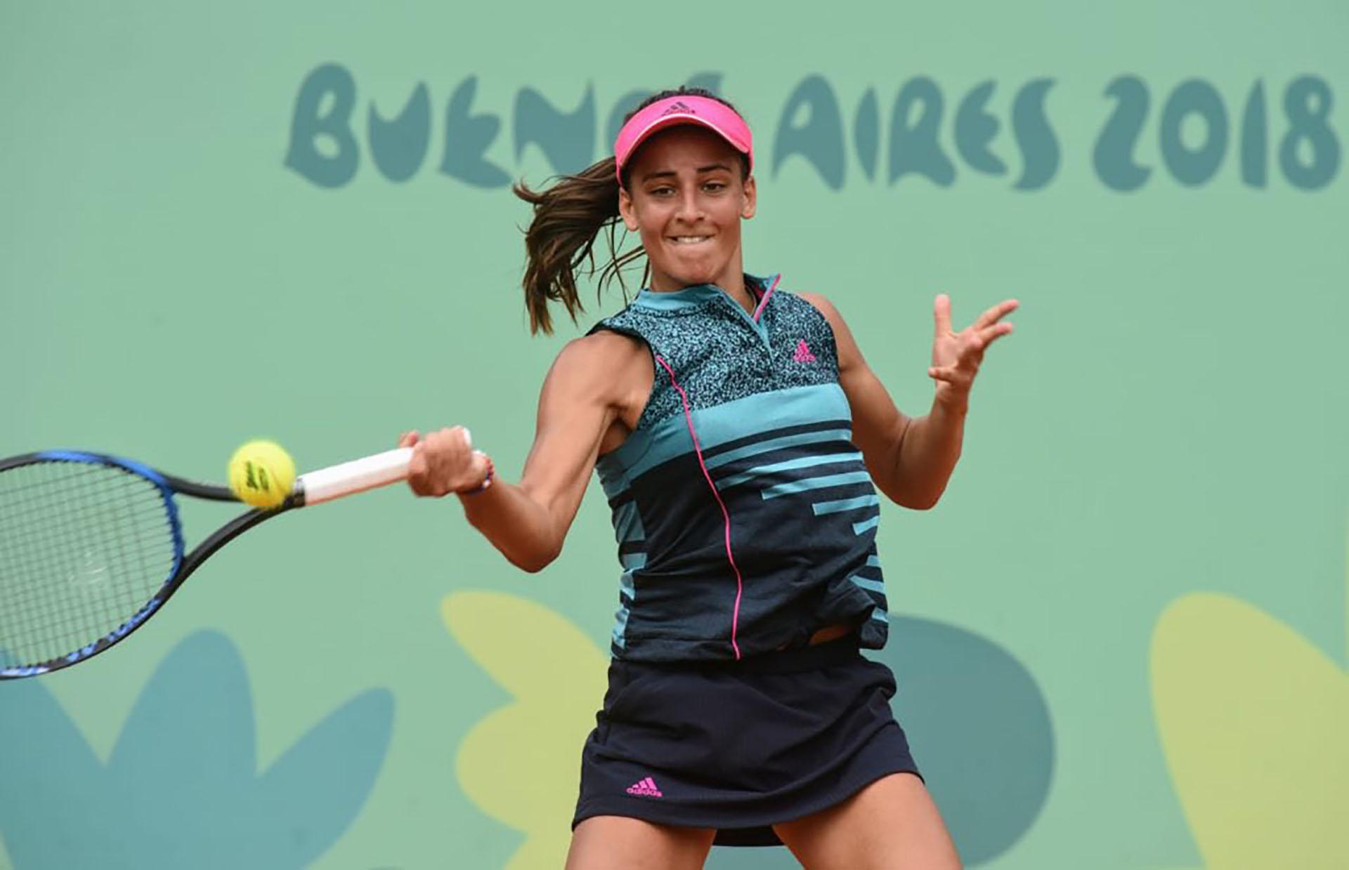 Ahora María Lourdes Carlé buscará la medalla de bronce (@PrensaCOA)