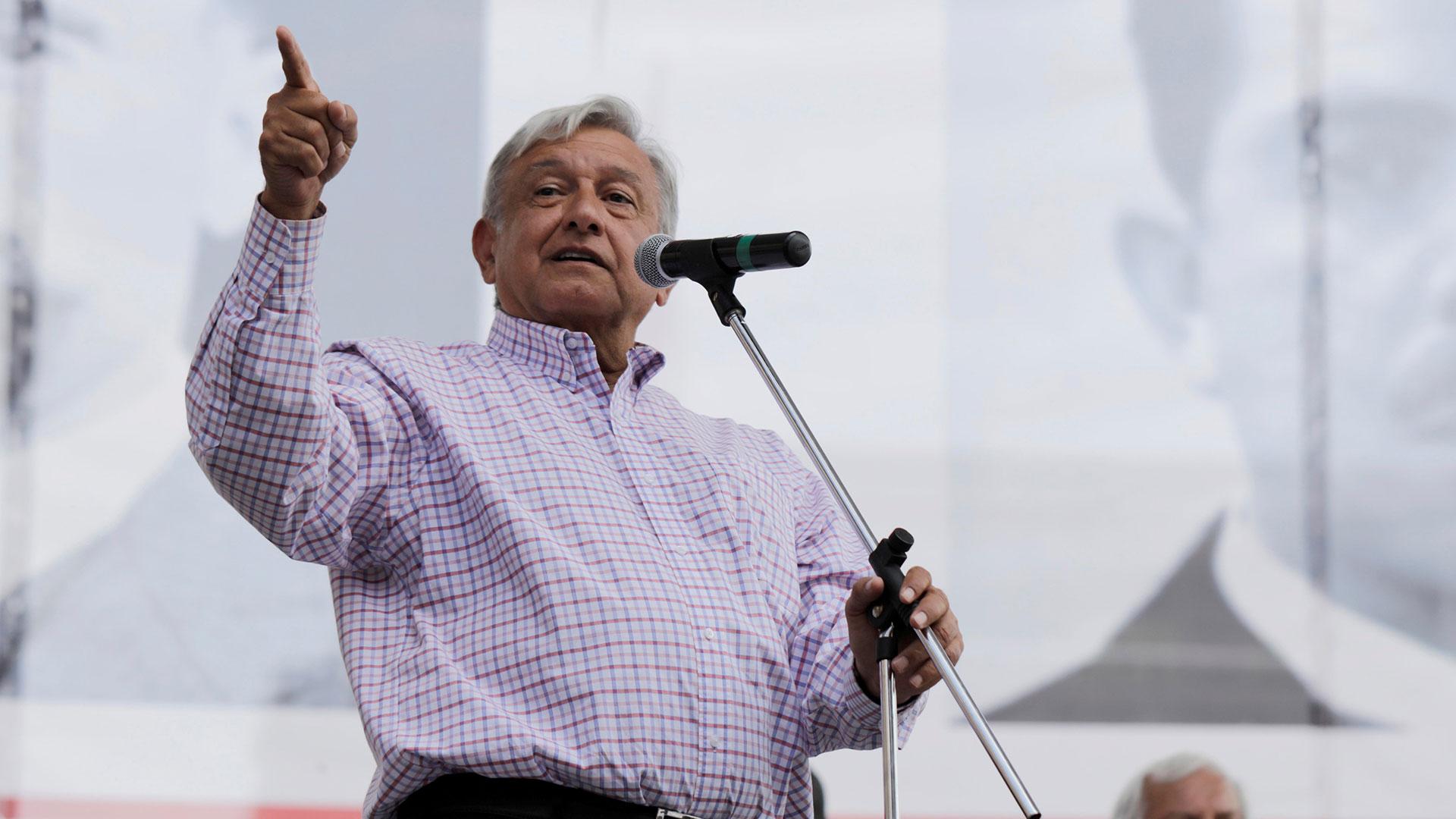 Andrés Manuel López Obrador. (Reuters)