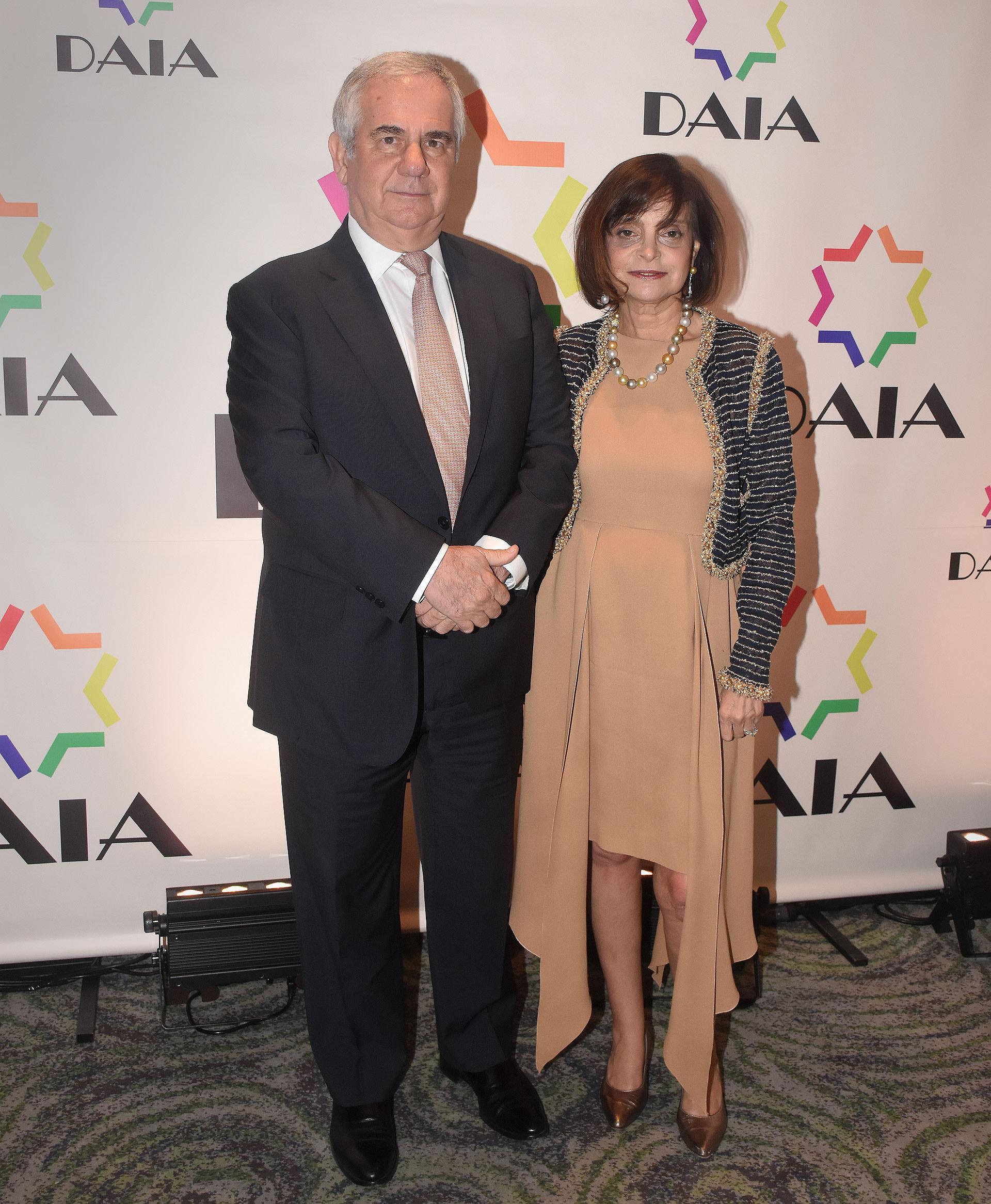 Claudia Stad y su marido Pablo Boskis