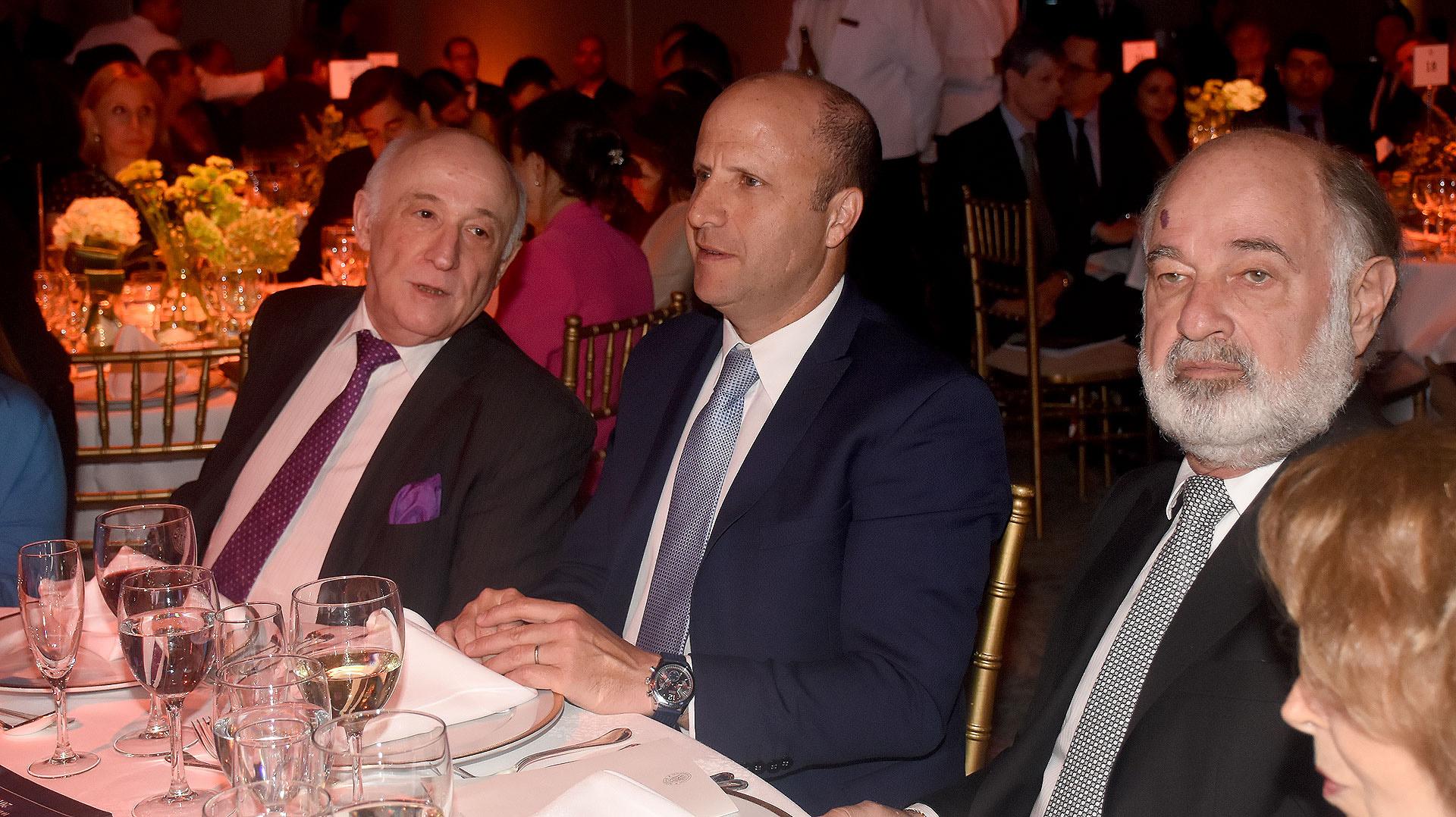 El juez de la Cámara Nacional de Apelaciones en lo Penal Económico, Marcos Grabivker, y el juez Mariano Borinski, presidente de la Sala IV de la Cámara Federal de Casación Penal