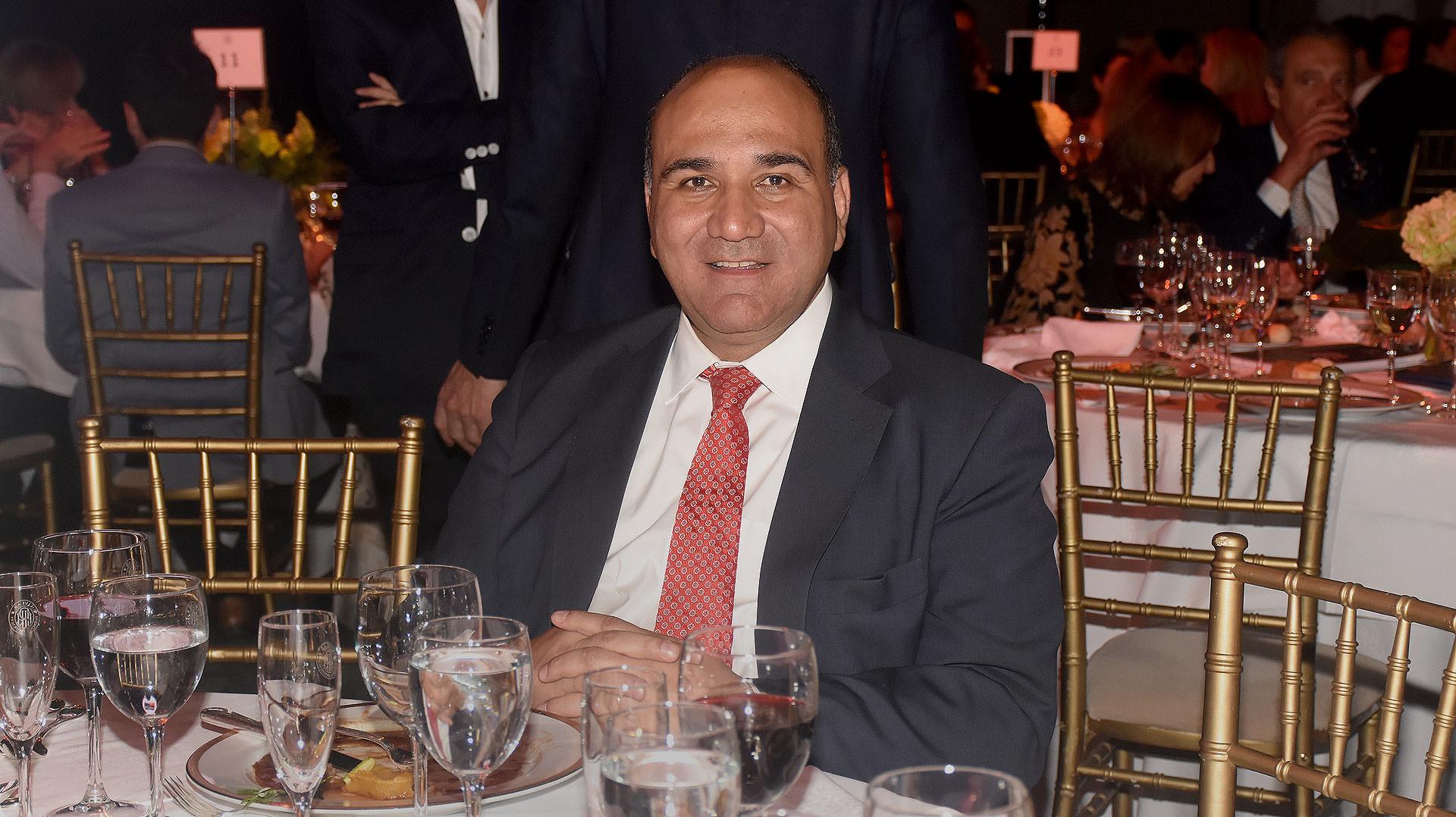 Juan Manzur, gobernador de Tucumán
