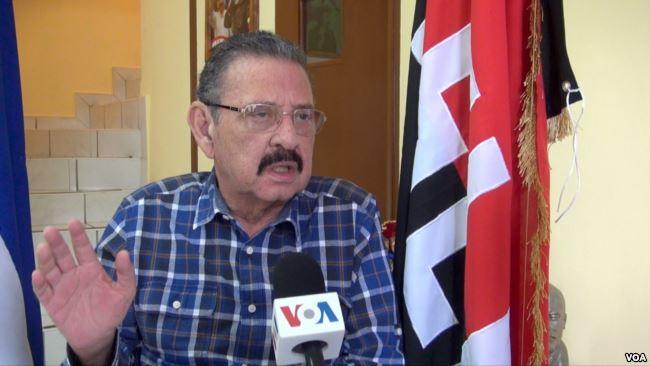 El diputado oficialista Jacinto Suárez habla con la Voz de América sobre las denuncias contra el presidente Daniel Ortega (VOA)