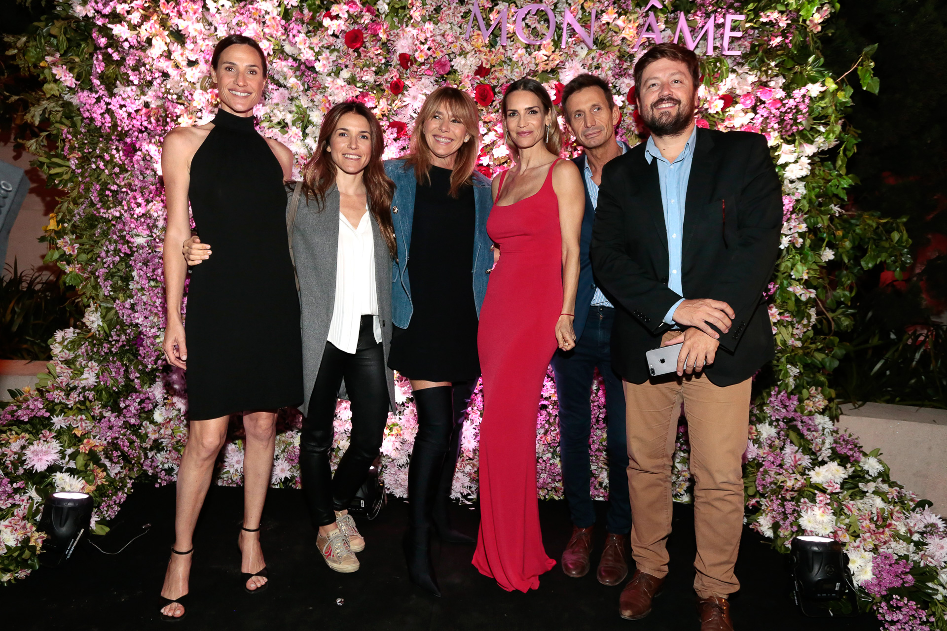 Lara Bernasconi, Vicky Miranda, Grace Ratto, María Vázquez, Martín Arozamena y Jorge Lukowski