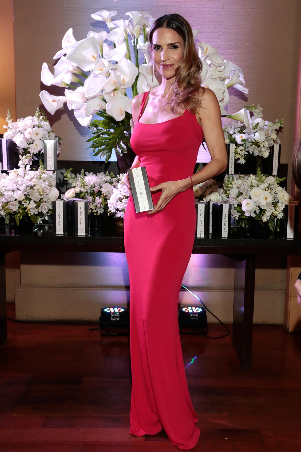 María Vázquez en la presentación de su nueva línea de fragancias, que se llevó a cabo en un exclusivo cóctel con invitados VIP