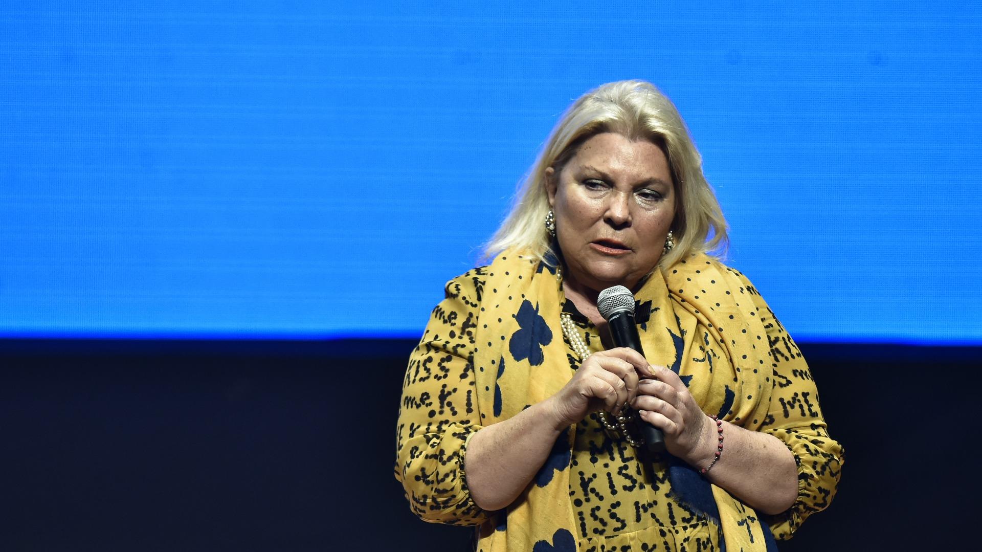 Elisa Carrió (Adrián Escandar)