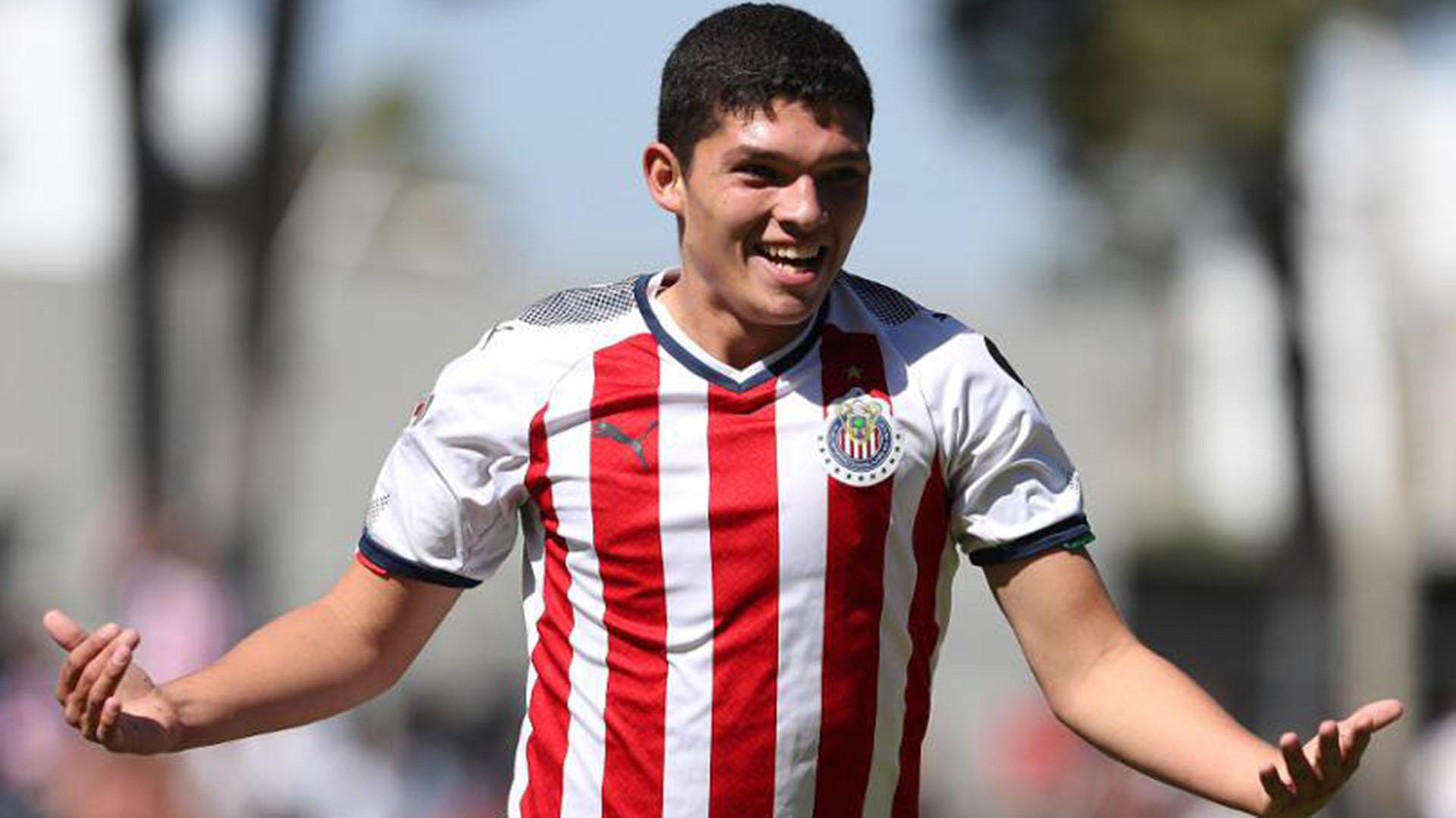 Sebastián Martínez es una de las joyas del fútbol mexicano (@Chivas)