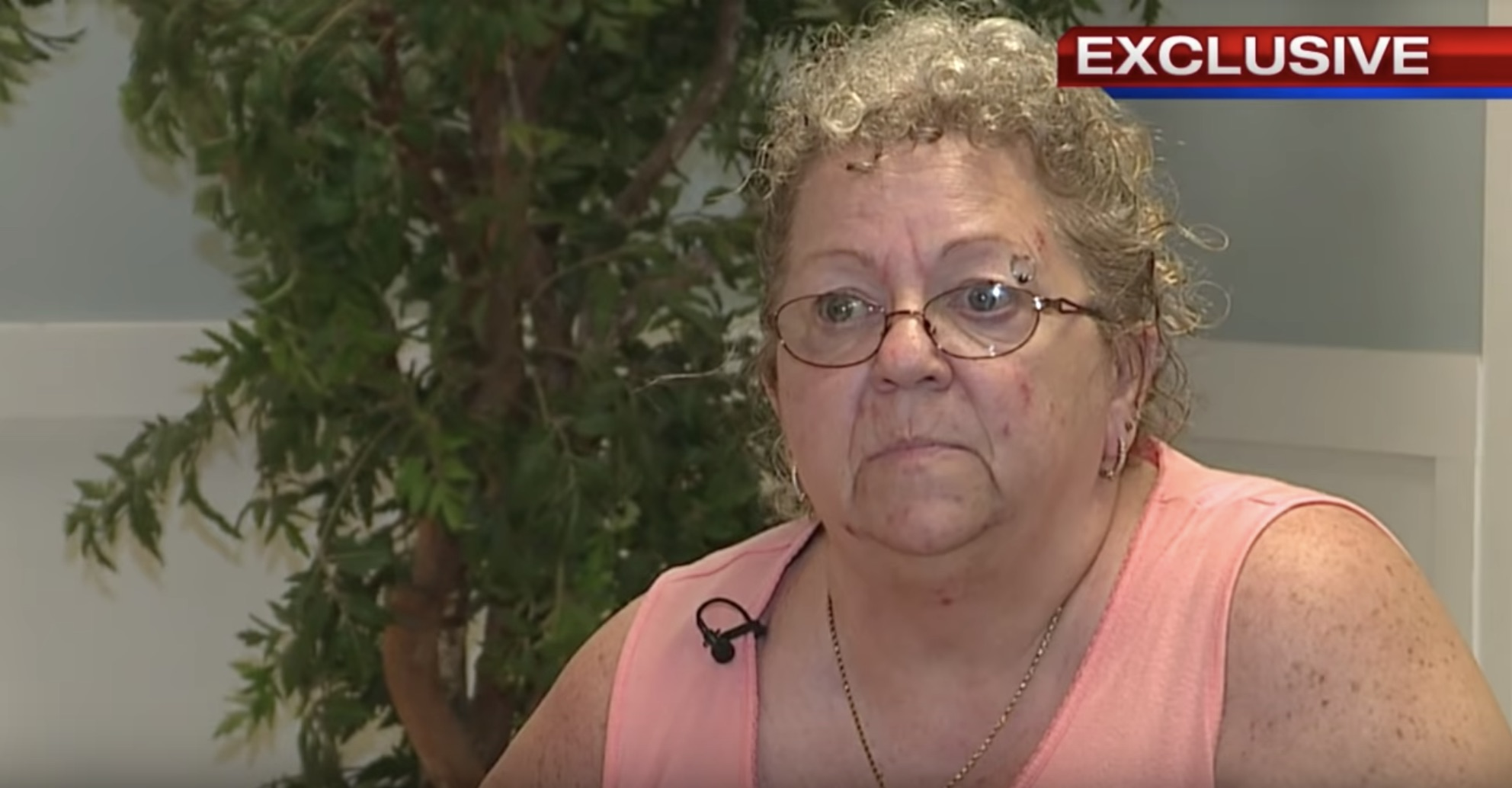 """La pasajera fue Cindy Torok y alegó que viajaba con la ardilla porque era considerado un animal """"de apoyo emocional"""" (Captura Fox 8)"""