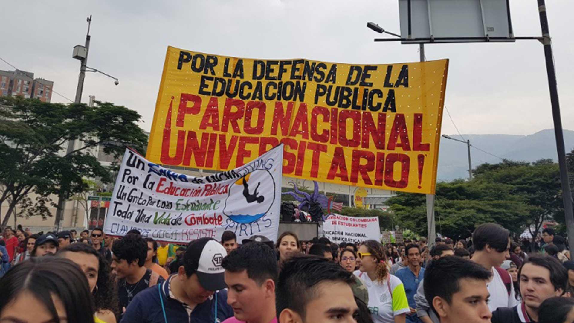 Las marchas se realizaron ayer 10 de octubre en las principales ciudades del país.