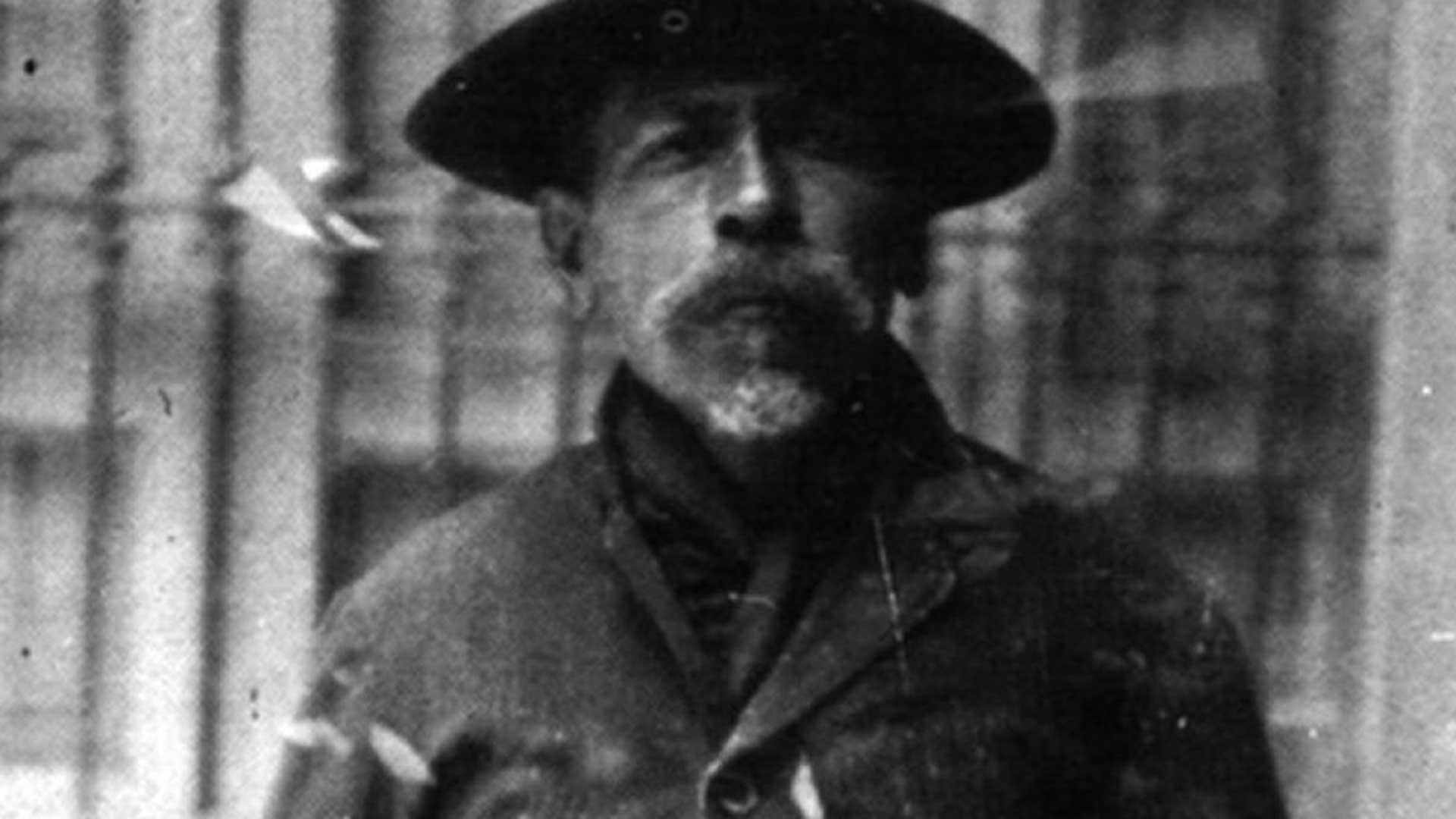 """""""El Chalequero"""" en una fotografía tomada en la cárcel antes de su muerte"""
