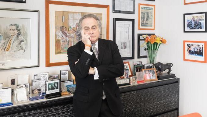El abogado de Weinstein, Benjamin Brafman