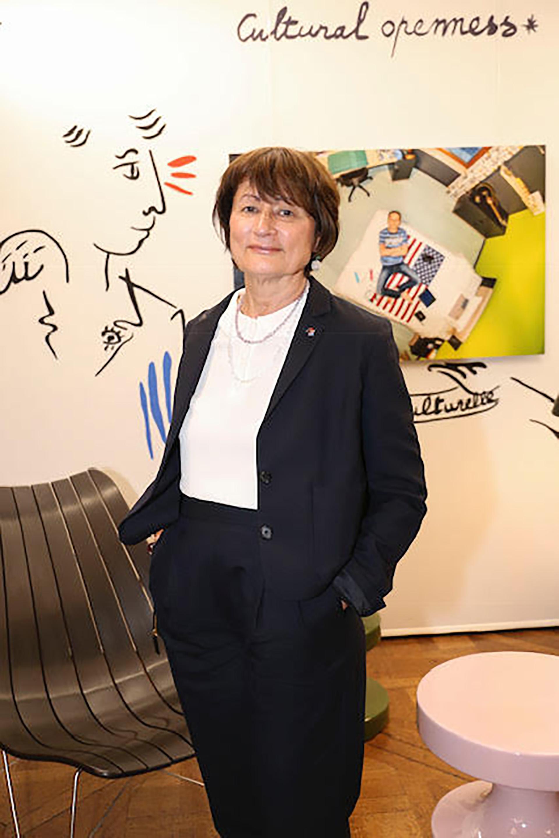 Catherine Millet, escritora francesa, crítica cultural y fundadora de Art Press, una de las revistas de arte más influyentes de Francia