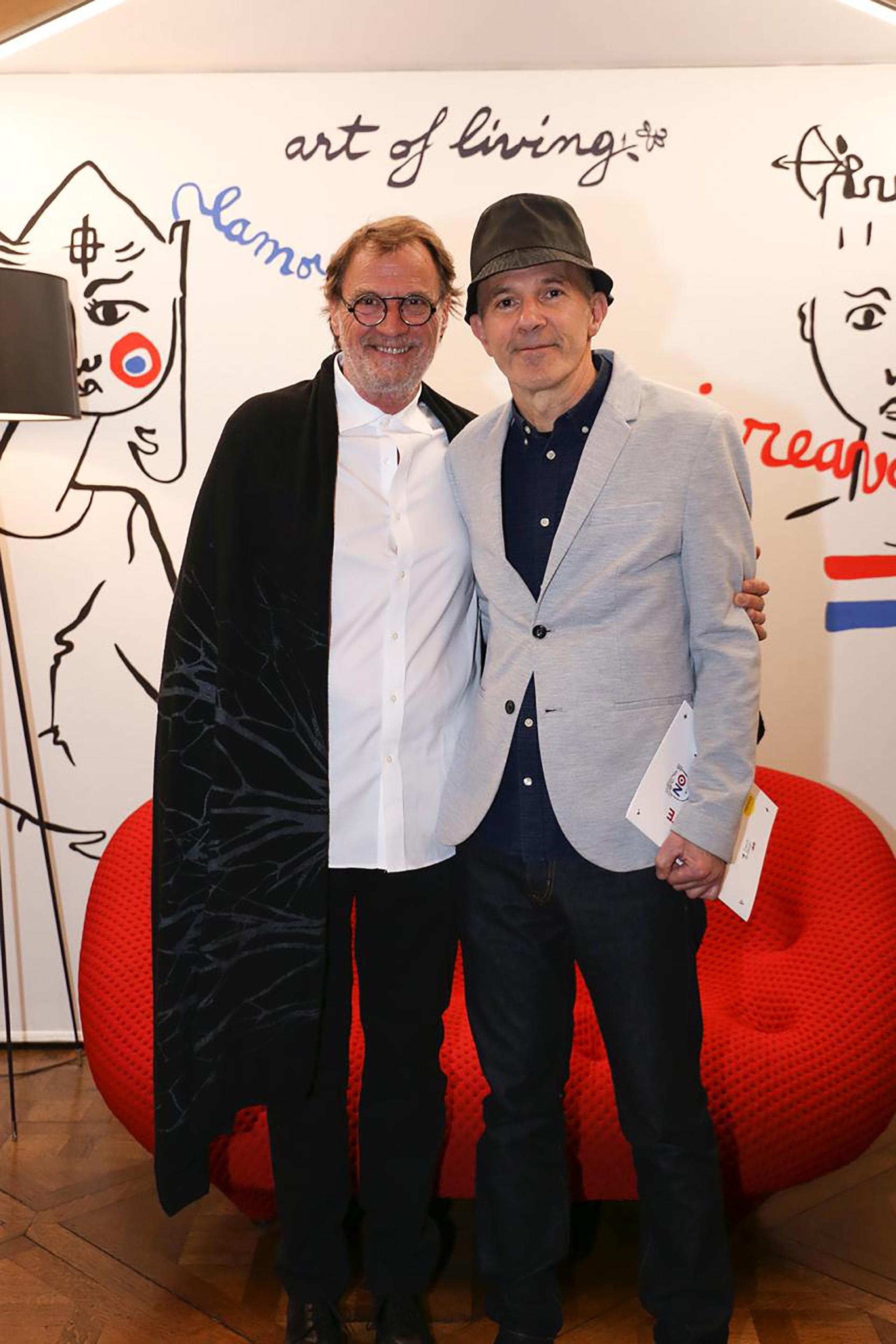 Sergio Iskowitz y Juan Rossi