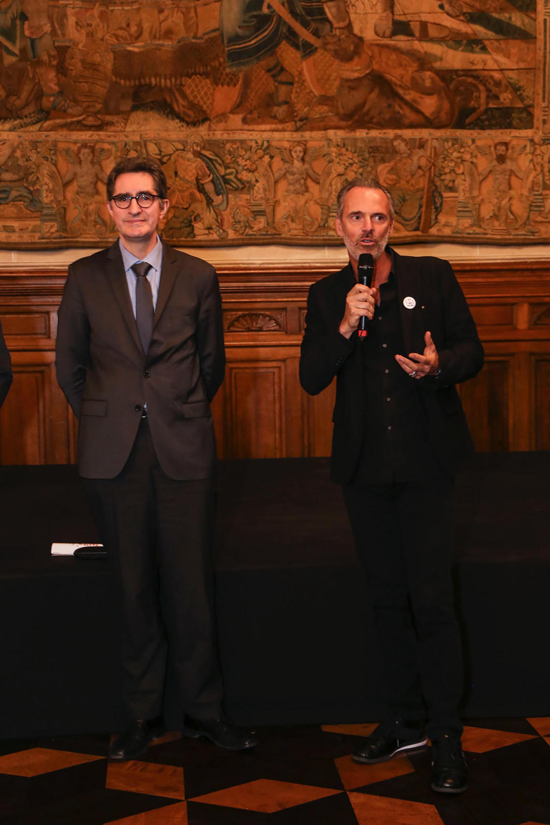Yann Lorvo y Jean Paul Bath