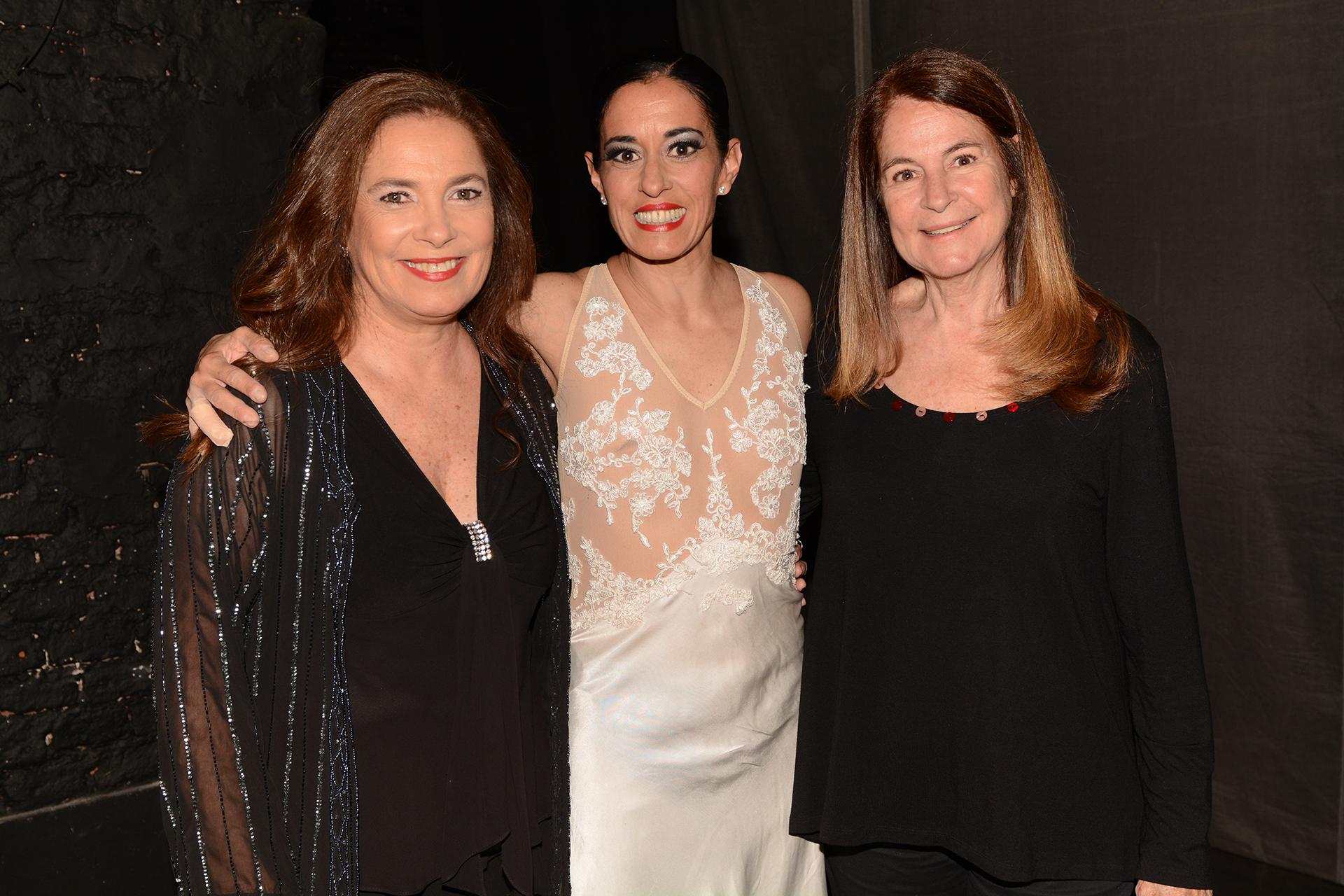 Sandra Mihanovich, Cecilia Figaredo y María Paz Novaro
